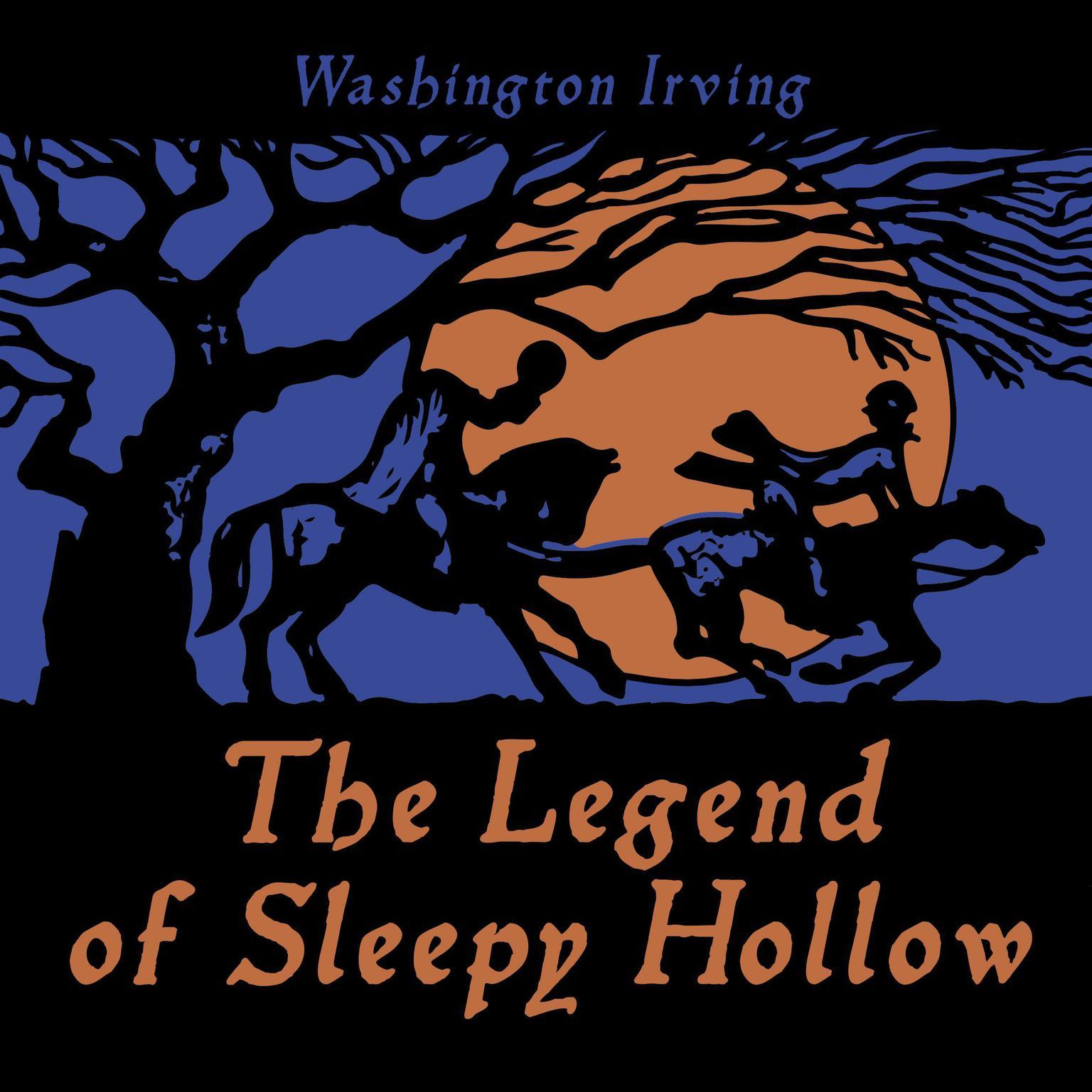 Printable The Legend of Sleepy Hollow Audiobook Cover Art