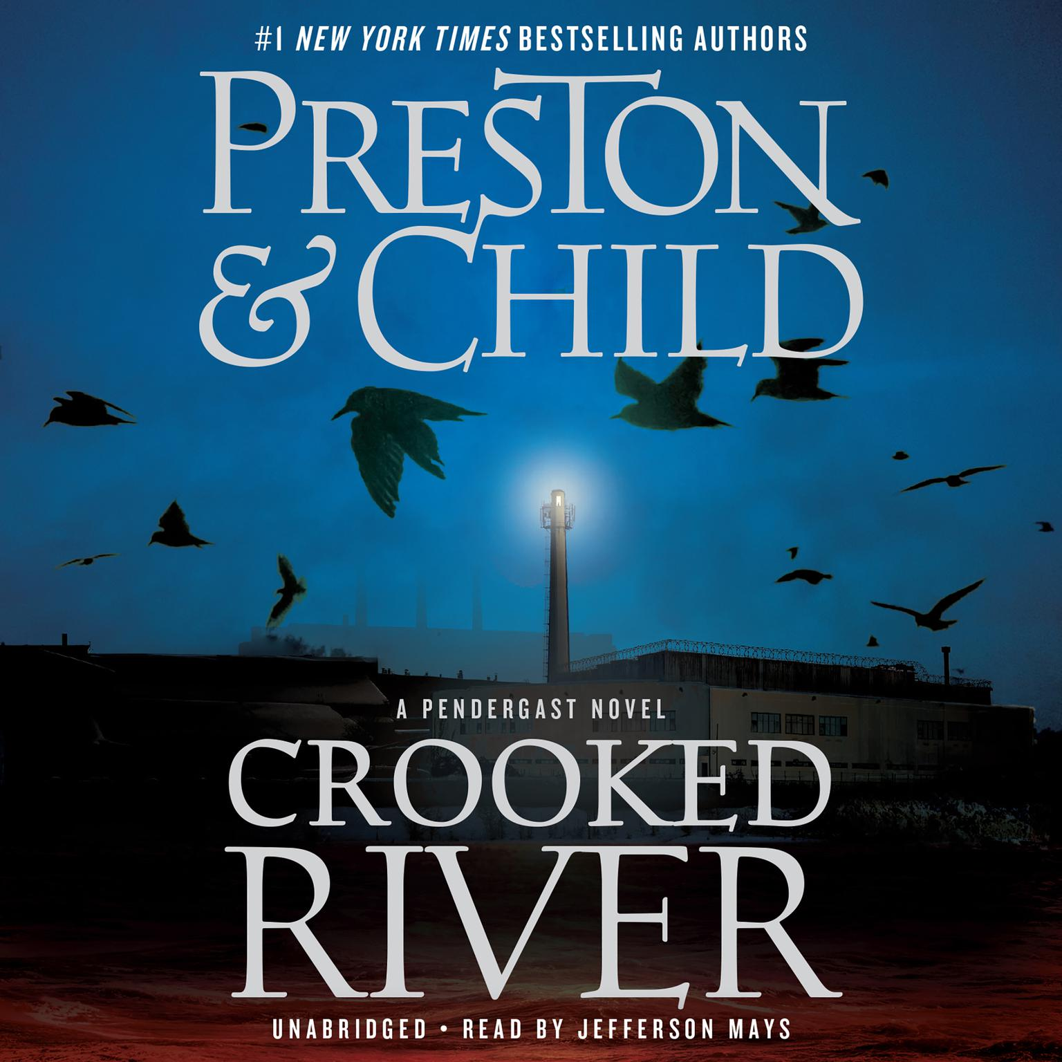 Printable Crooked River Audiobook Cover Art