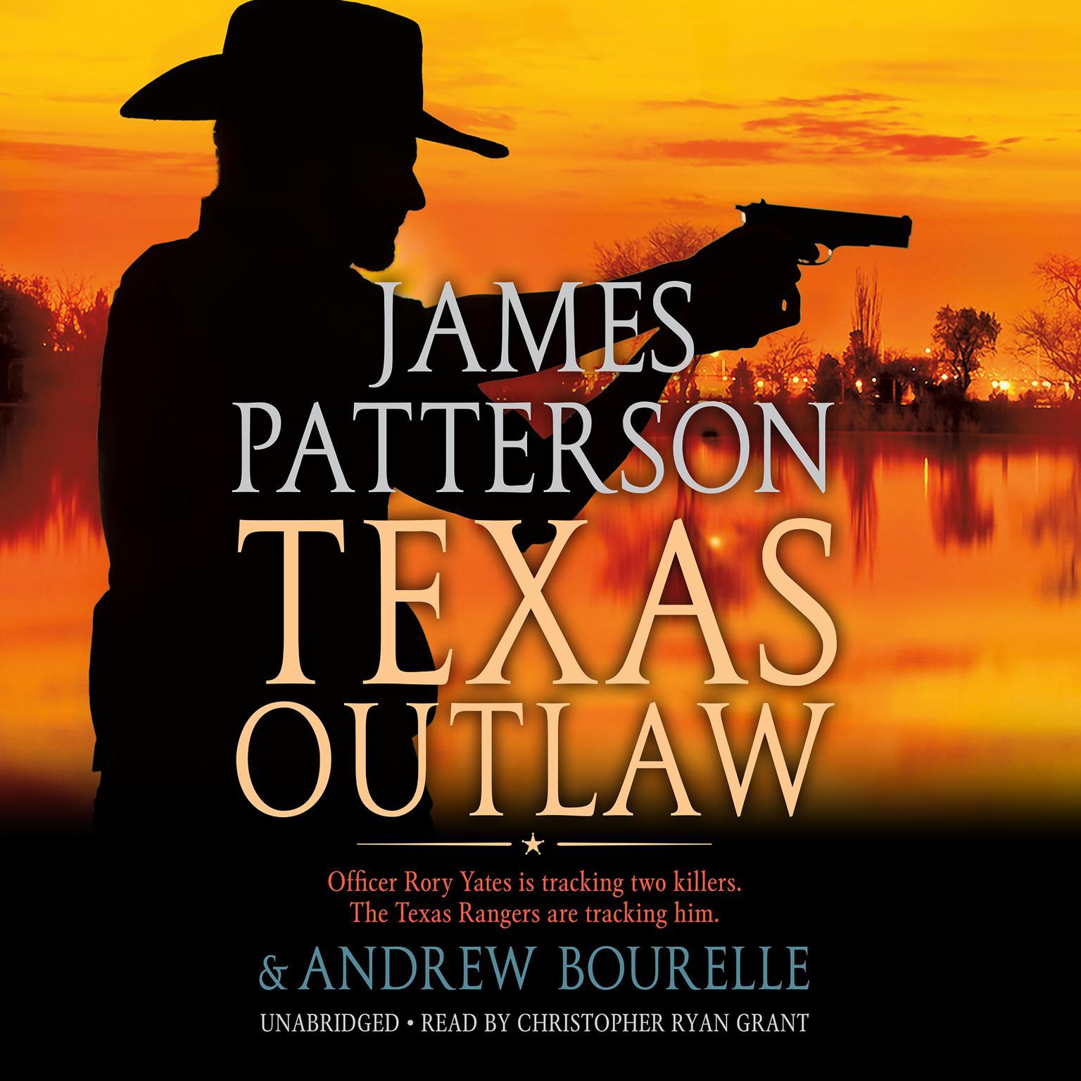 Printable Texas Outlaw Audiobook Cover Art