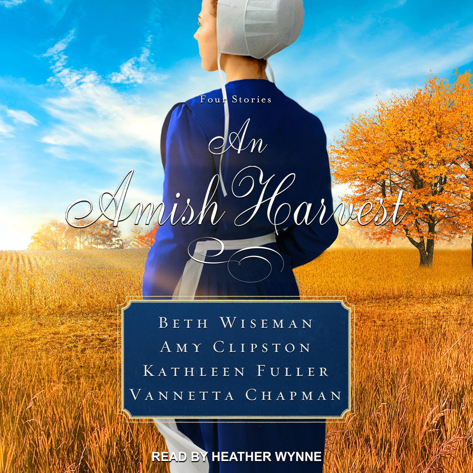 Printable An Amish Harvest: Four Novellas Audiobook Cover Art