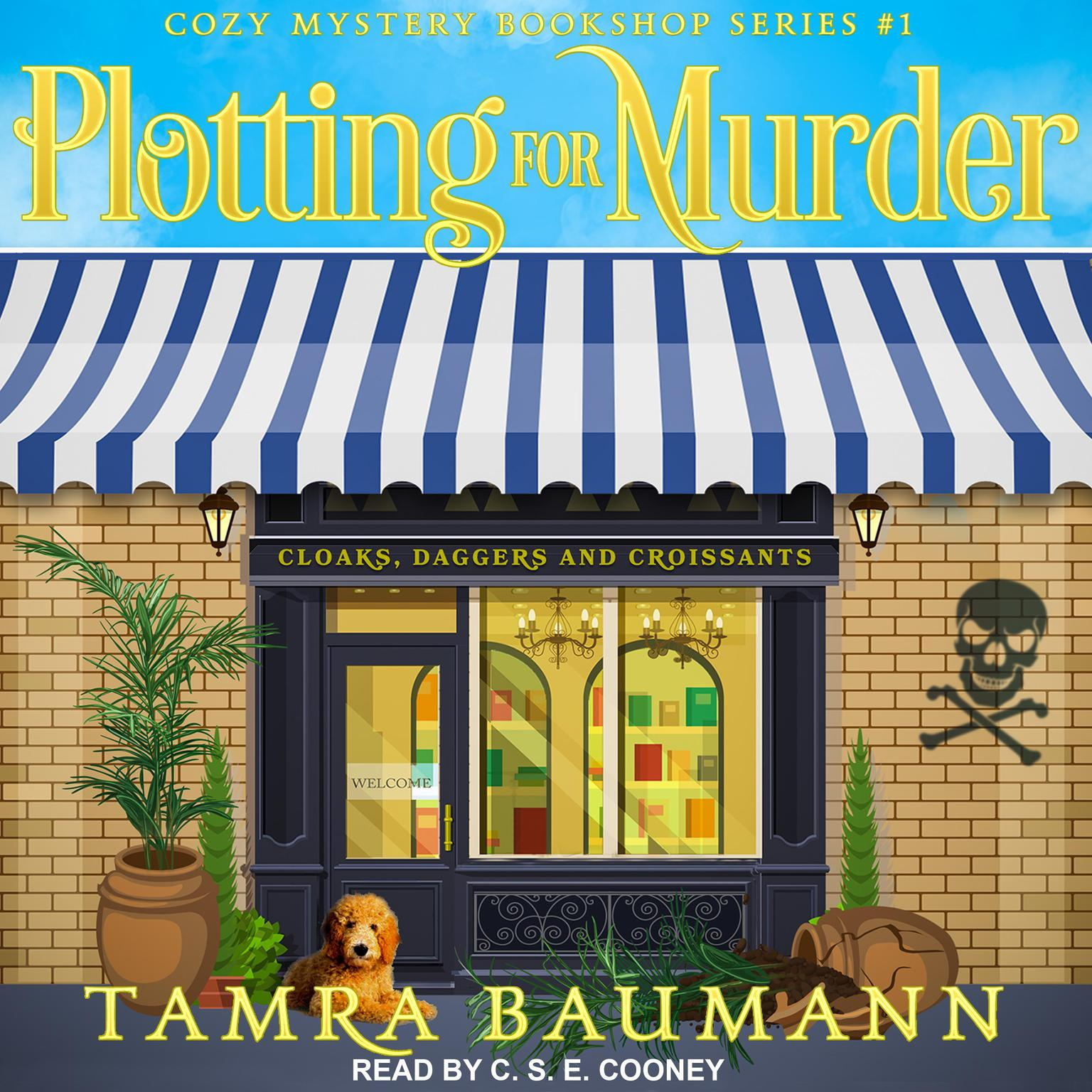 Printable Plotting for Murder Audiobook Cover Art