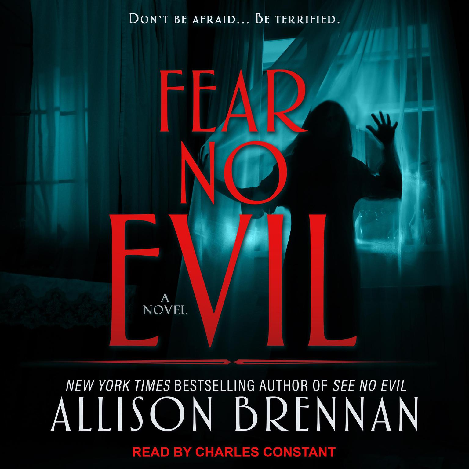 Printable Fear No Evil Audiobook Cover Art