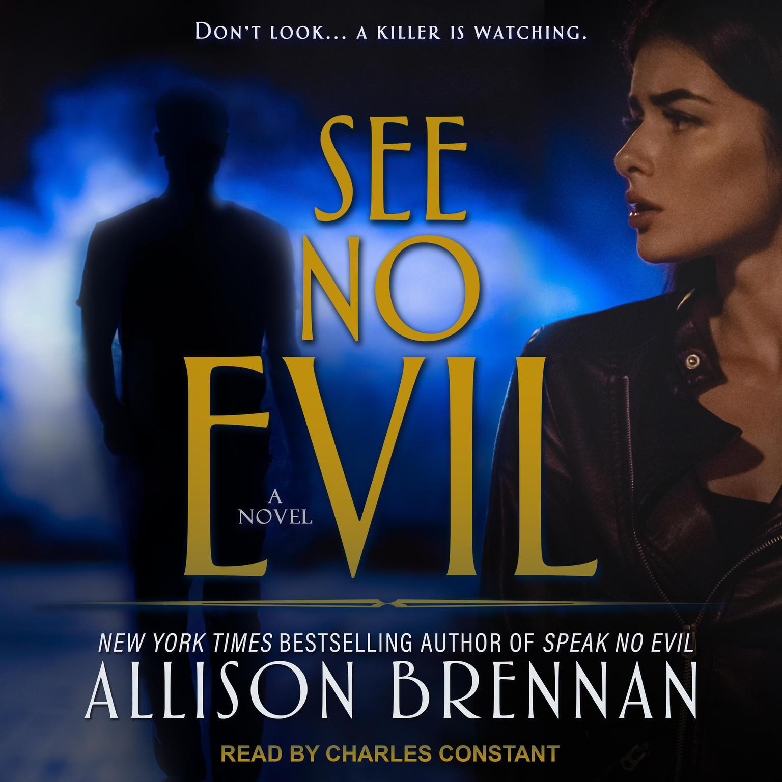 Printable See No Evil Audiobook Cover Art
