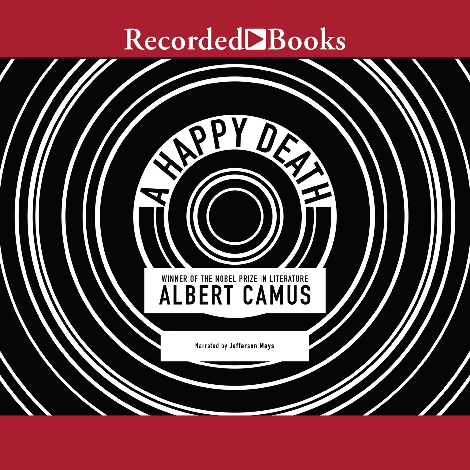 Printable A Happy Death Audiobook Cover Art