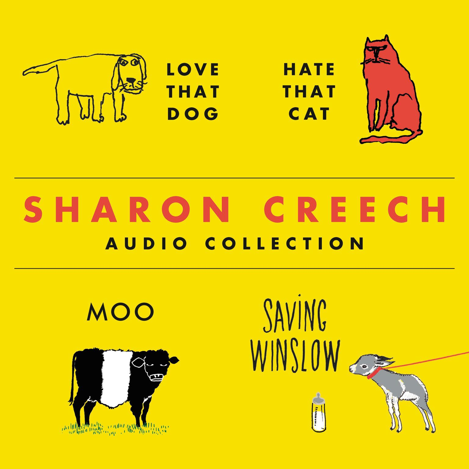 Printable The Sharon Creech Audio Collection Audiobook Cover Art