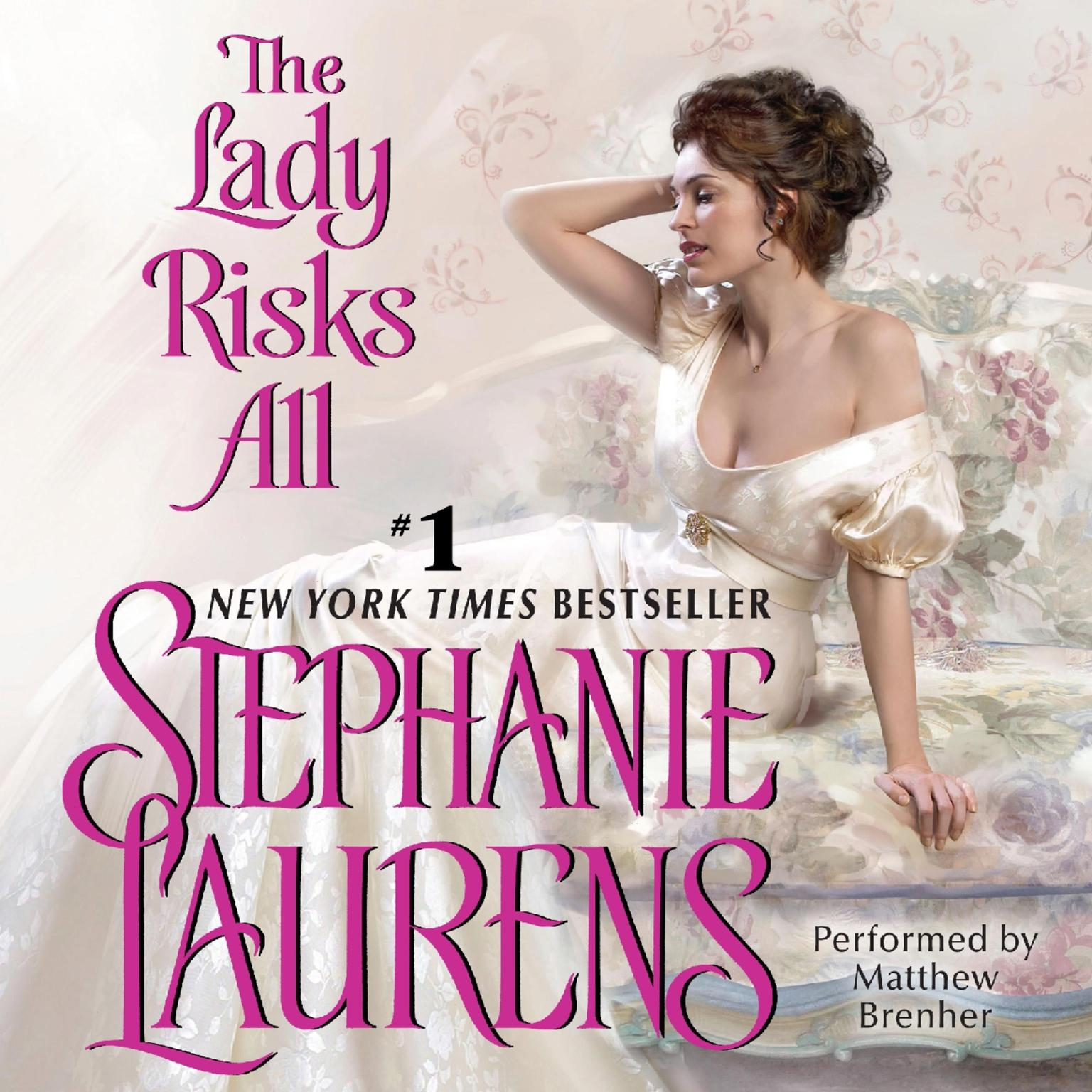 Printable The Lady Risks All Audiobook Cover Art