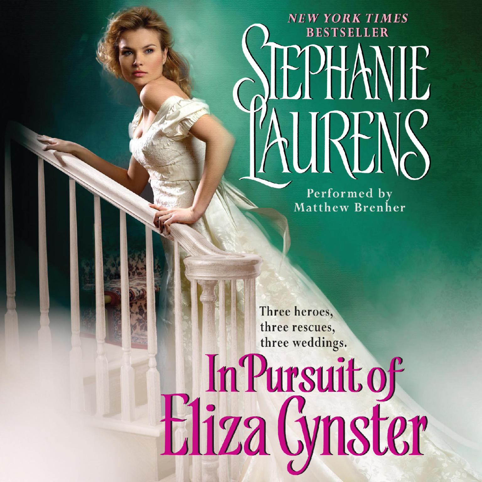 Printable In Pursuit of Eliza Cynster Audiobook Cover Art