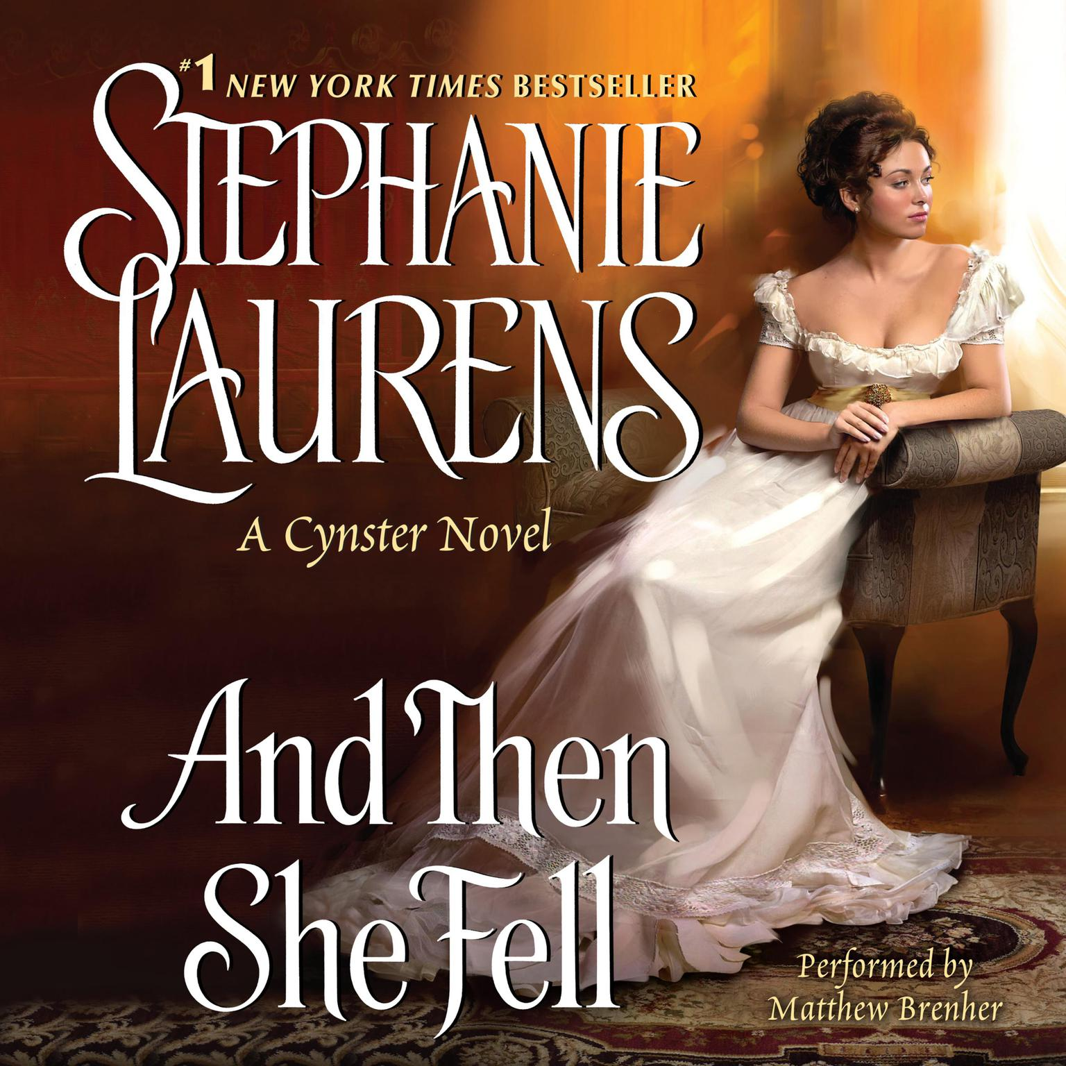 Printable And Then She Fell Audiobook Cover Art