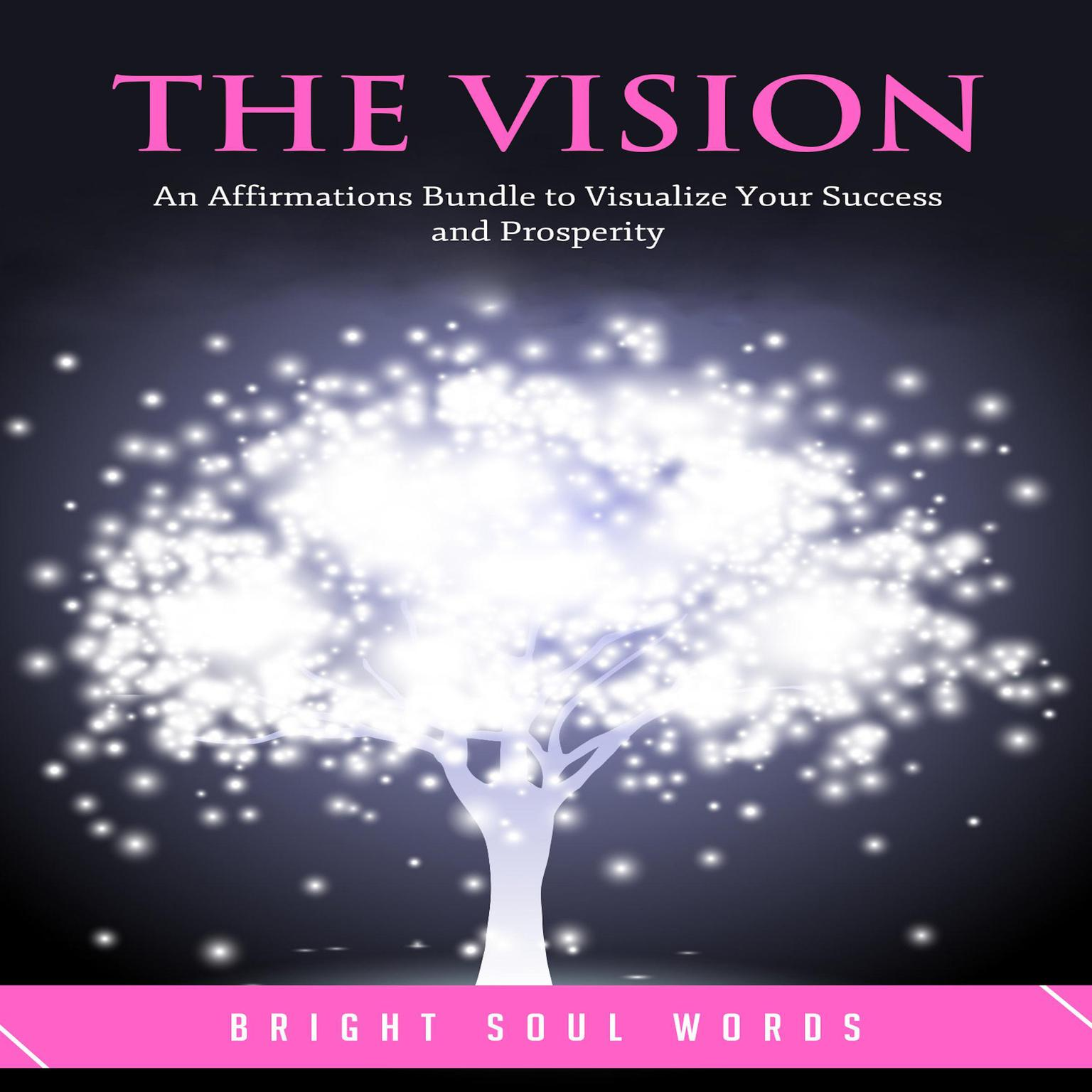 The Vision: An Affirmations Bundle to Visualize Your Success and Prosperity Audiobook, by Bright Soul Words