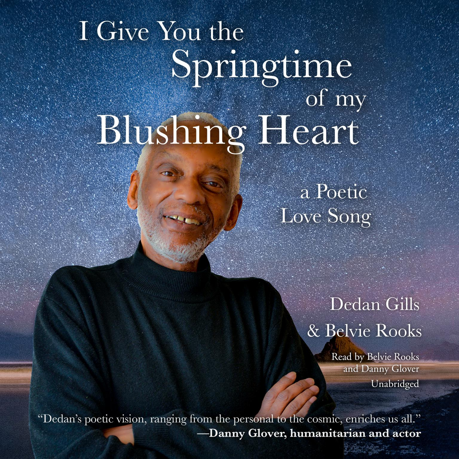 Printable I Give You the Springtime of My Blushing Heart: A Poetic Love Song Audiobook Cover Art
