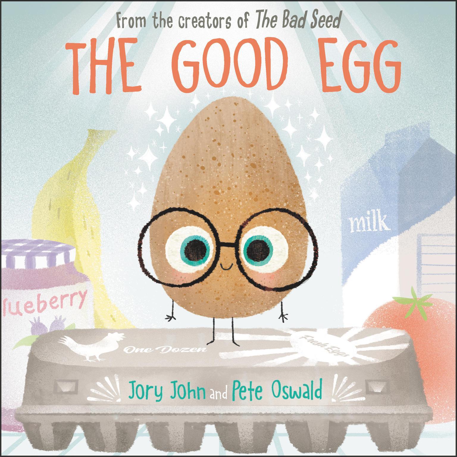 Printable The Good Egg Audiobook Cover Art