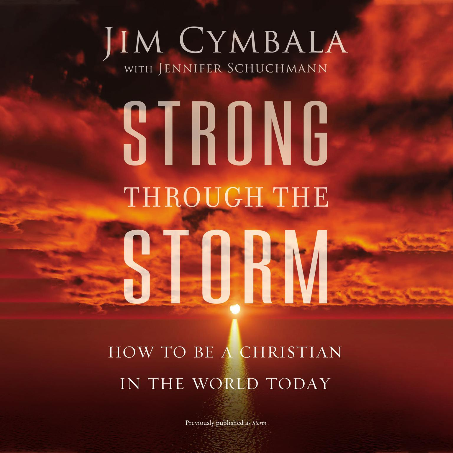 Strong through the Storm: How to Be a Christian in the World Today Audiobook, by Jim Cymbala