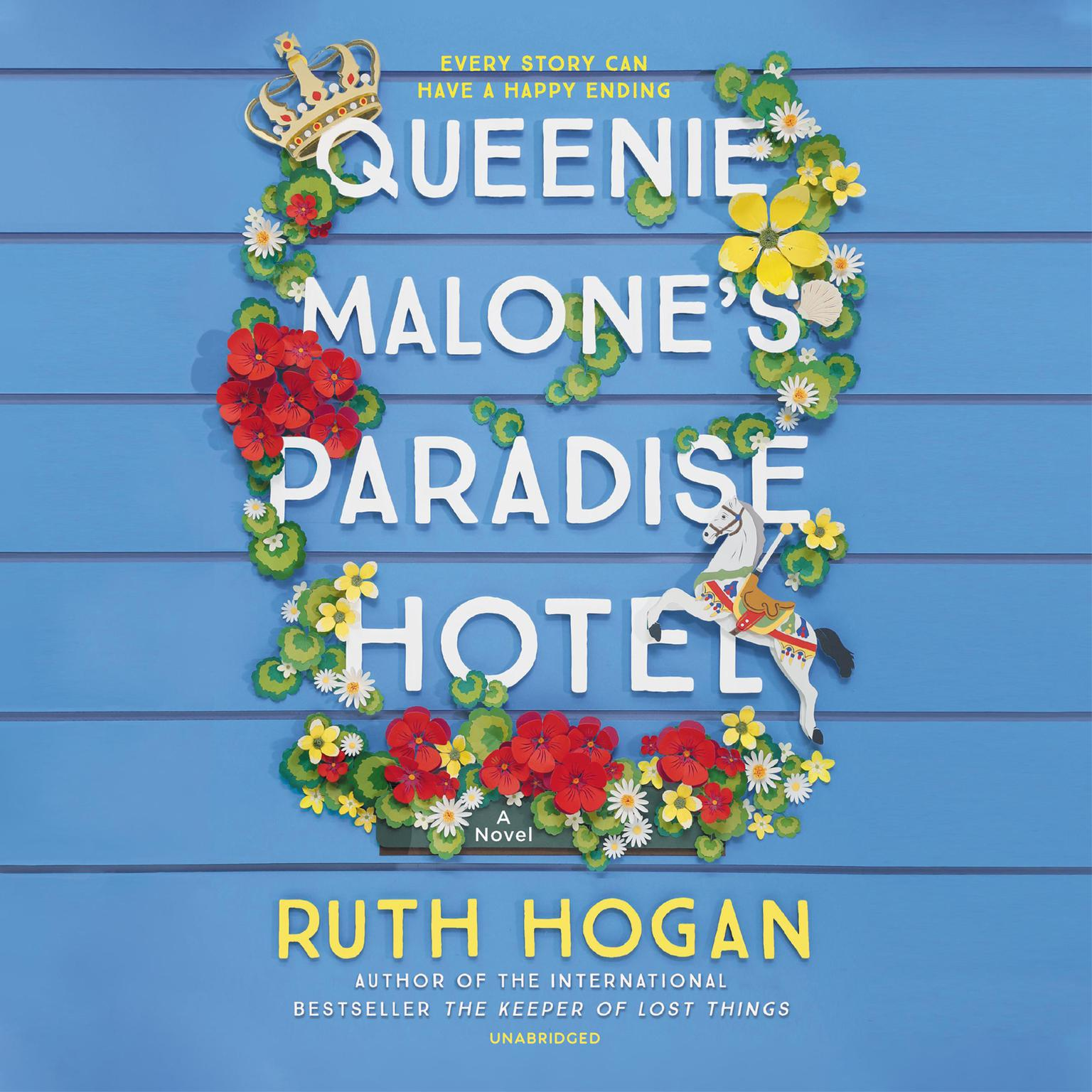 Printable Queenie Malone's Paradise Hotel: A Novel Audiobook Cover Art