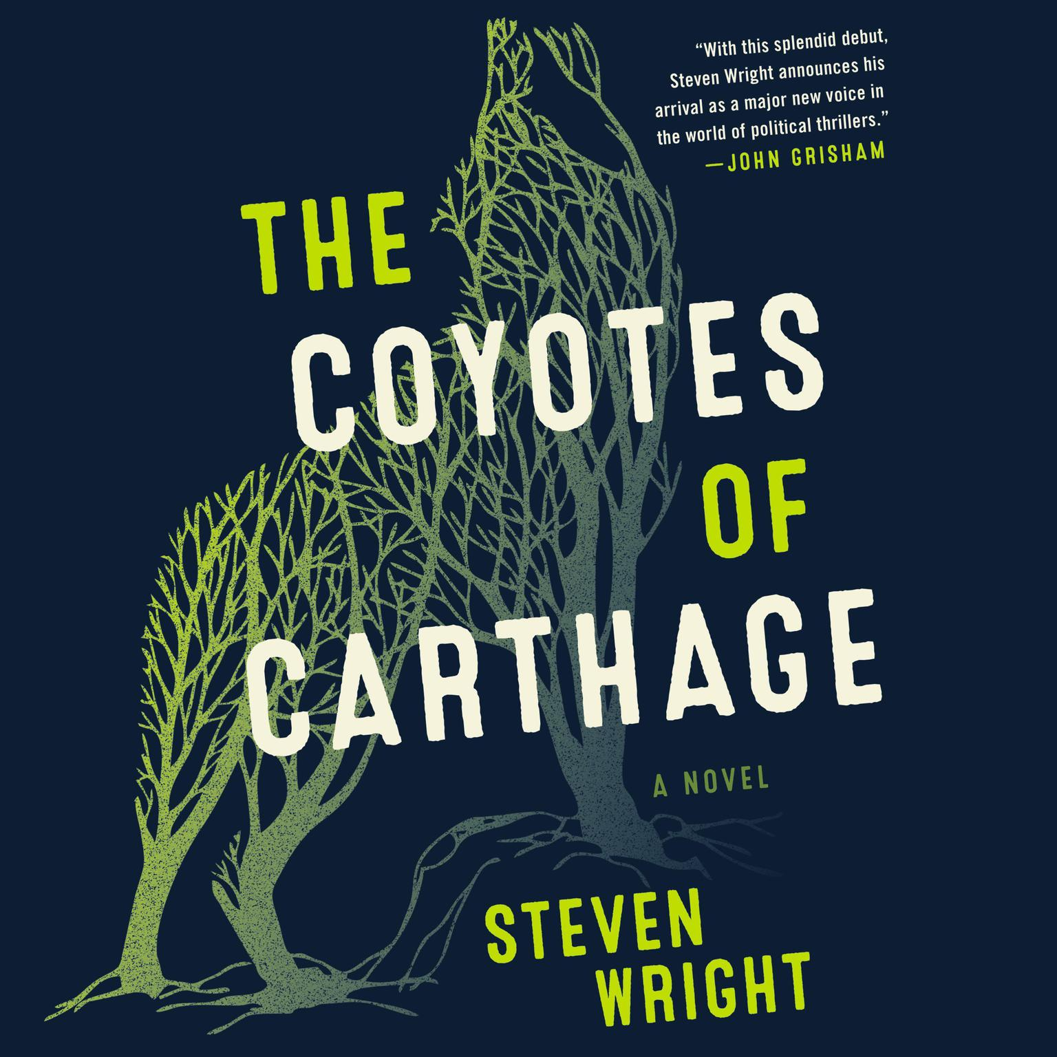 Printable The Coyotes of Carthage: A Novel Audiobook Cover Art