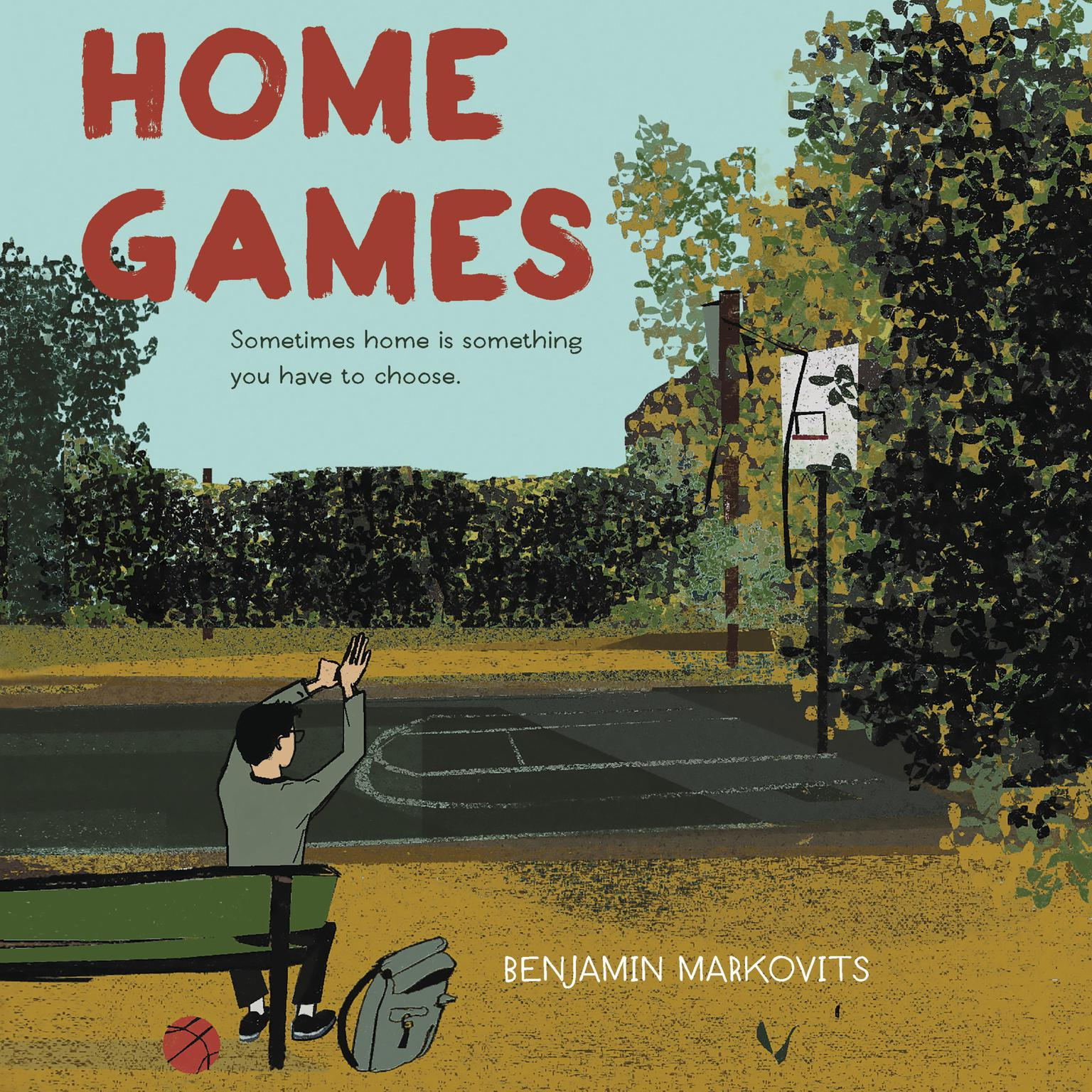 Printable Home Games Audiobook Cover Art
