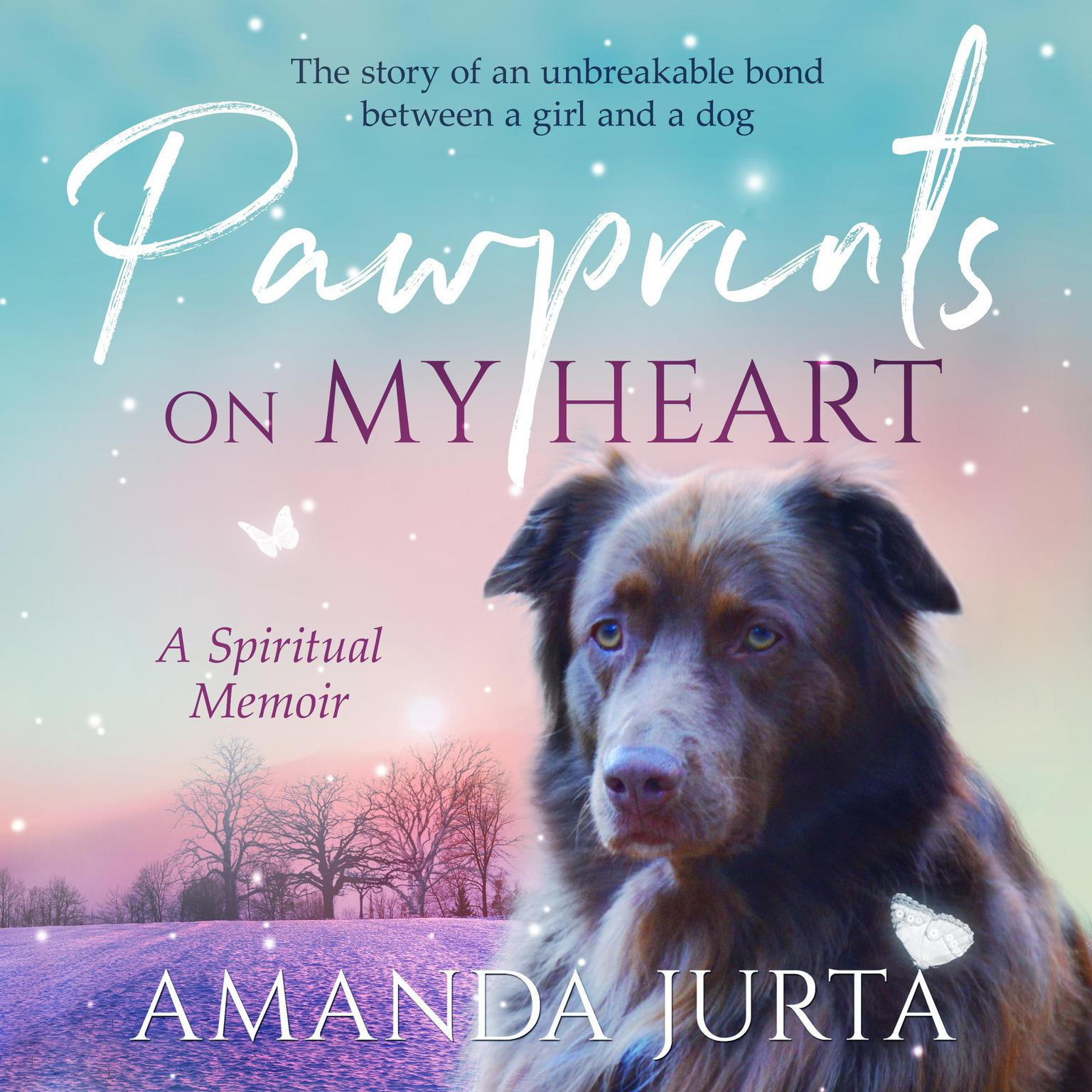 Printable Pawprints on My Heart Audiobook Cover Art