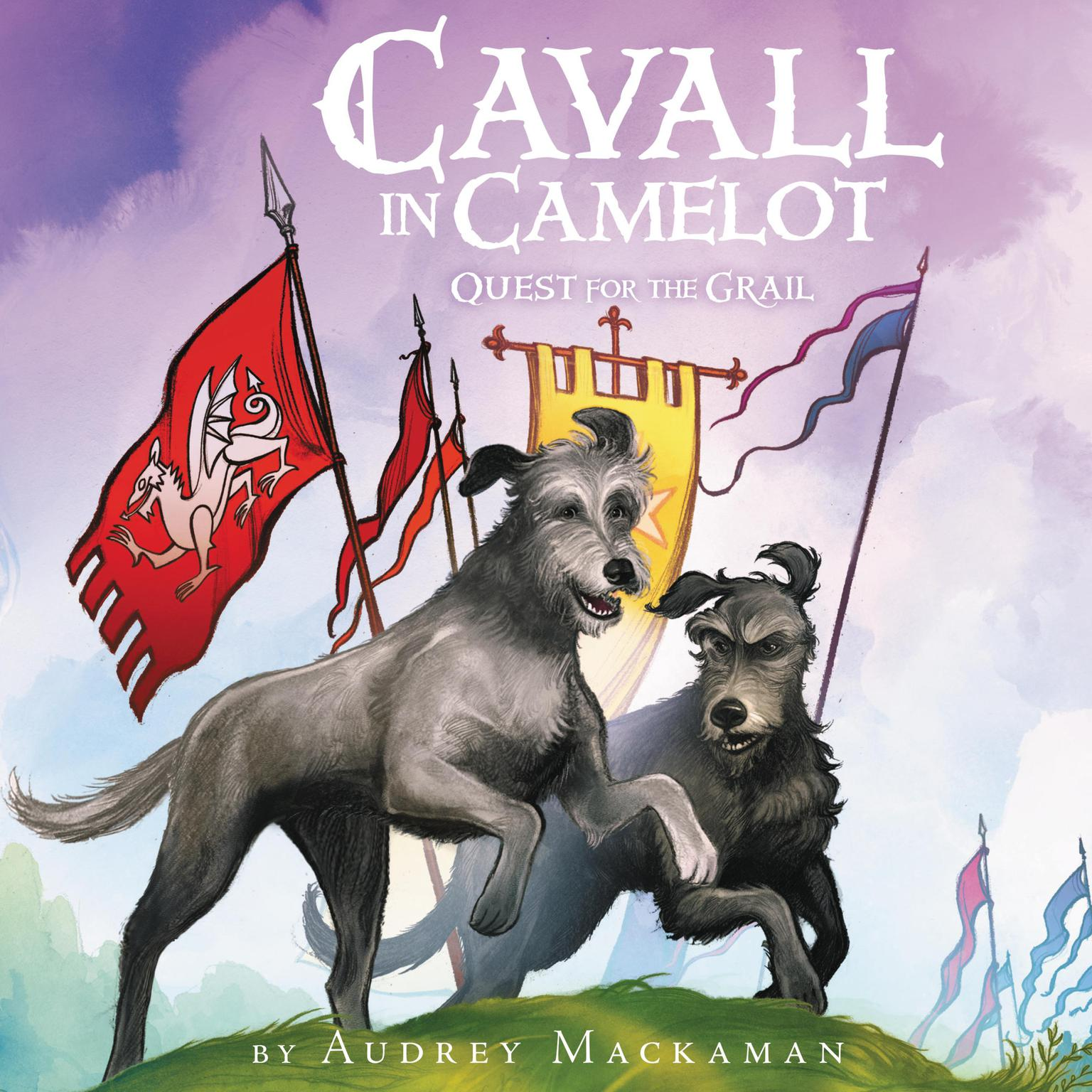 Printable Cavall in Camelot #2: Quest for the Grail Audiobook Cover Art