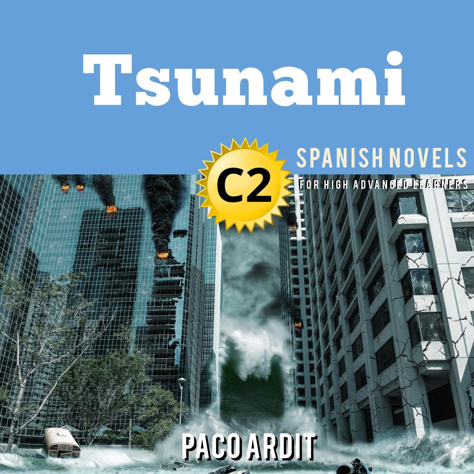 Printable Tsunami Audiobook Cover Art