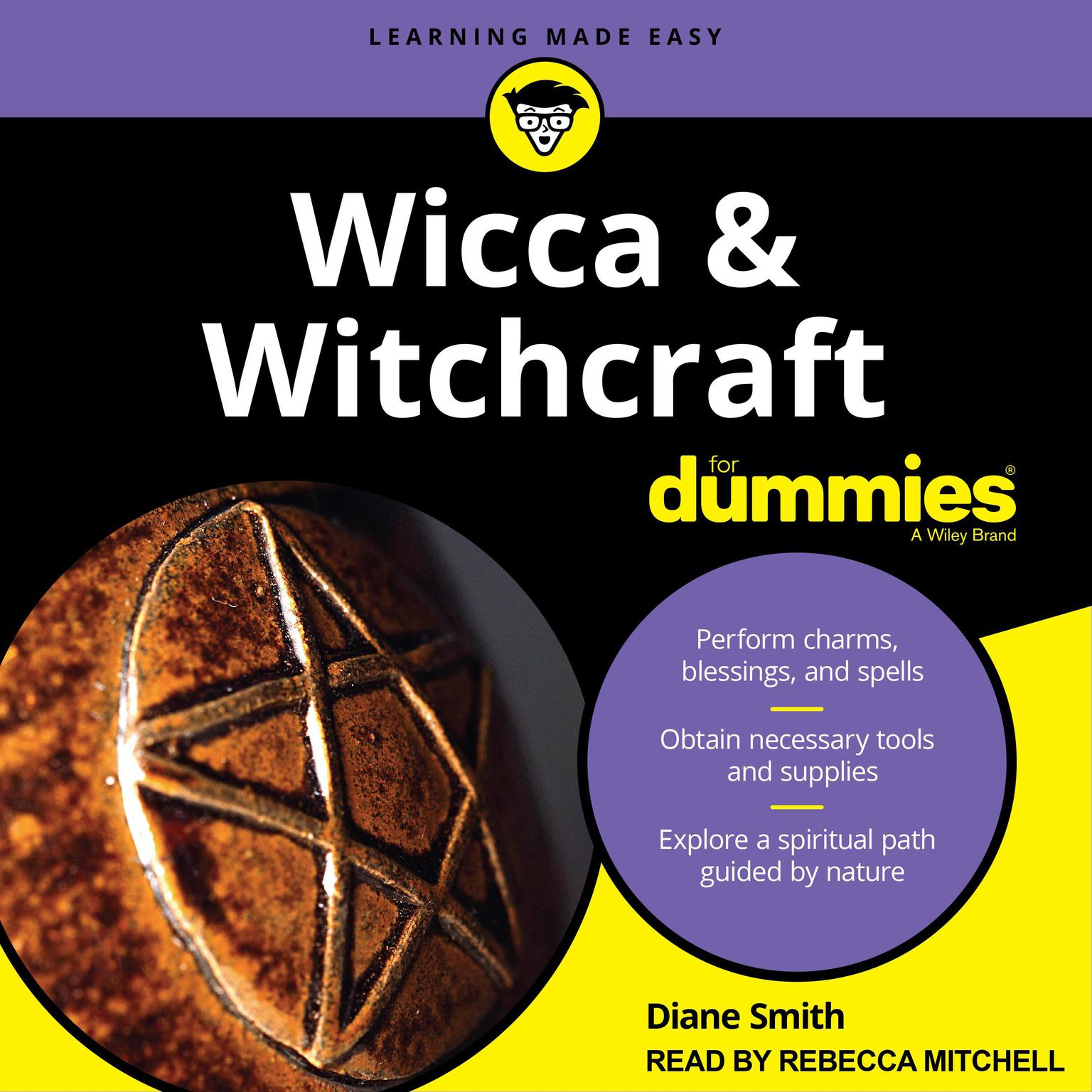 Printable Wicca and Witchcraft For Dummies Audiobook Cover Art
