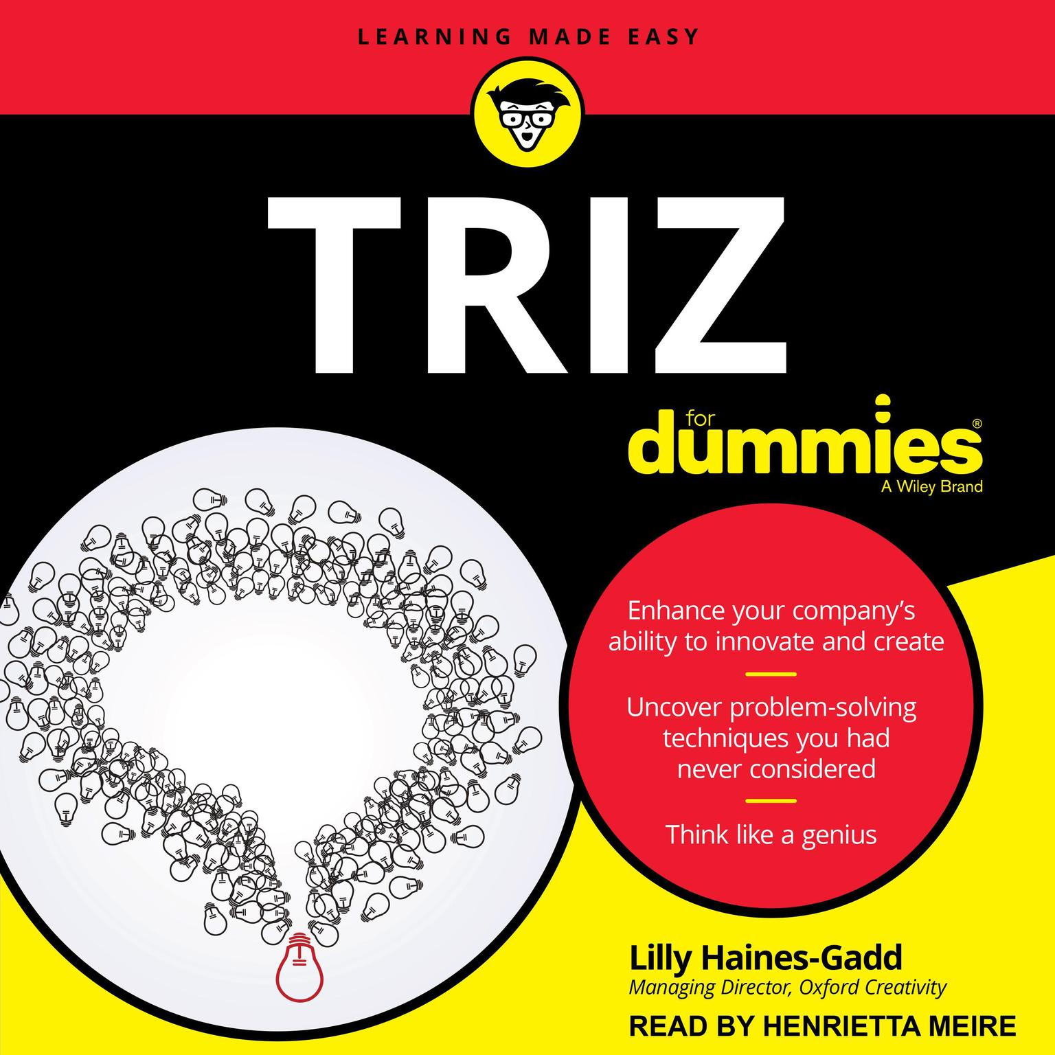 Printable TRIZ For Dummies Audiobook Cover Art