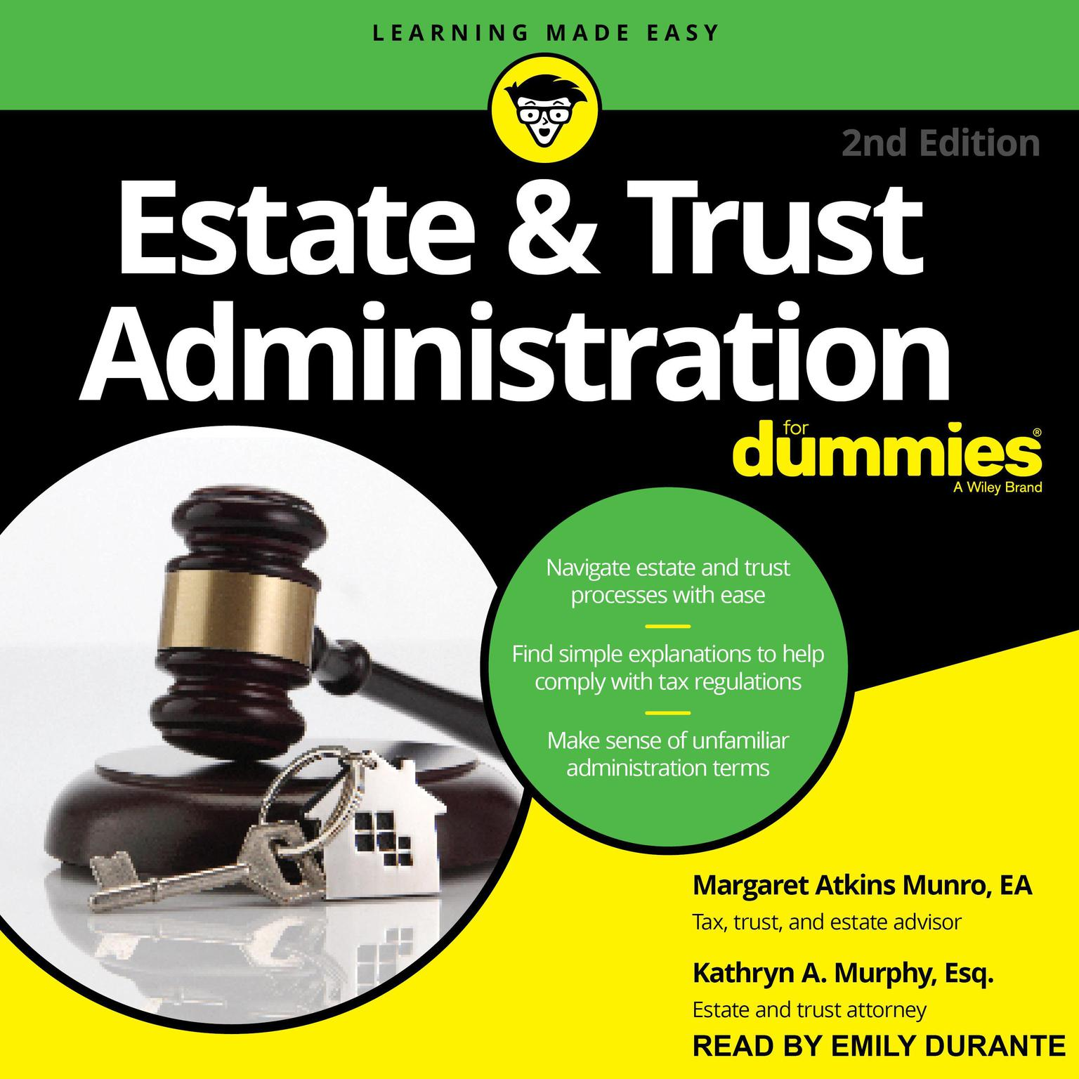 Printable Estate & Trust Administration For Dummies Audiobook Cover Art