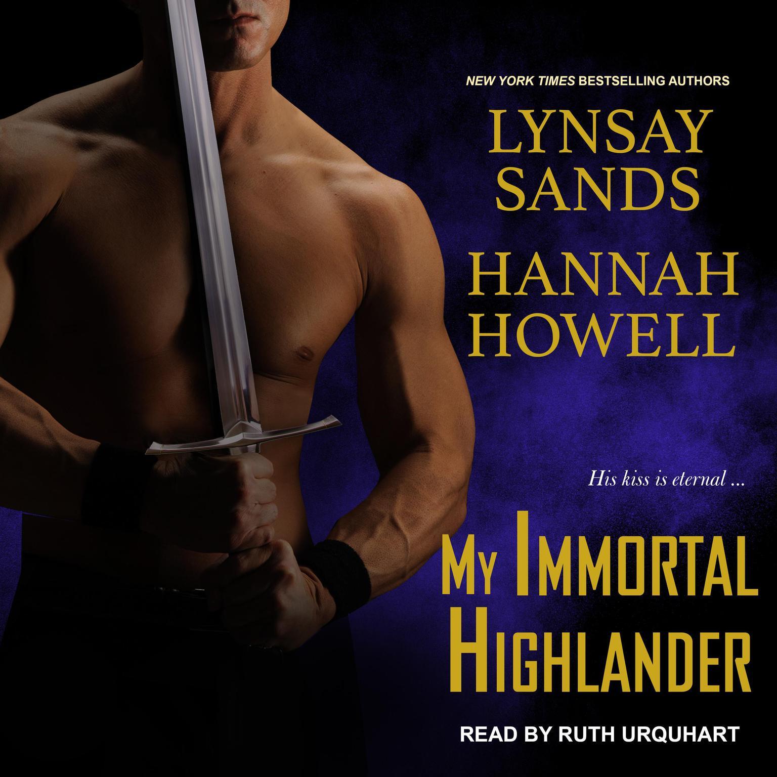 Printable My Immortal Highlander Audiobook Cover Art