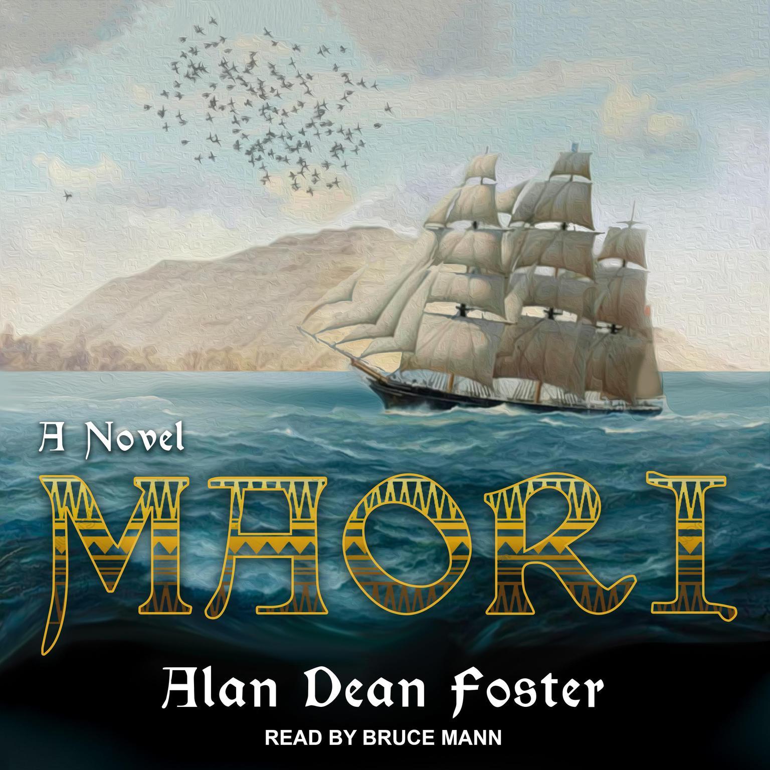 Printable Maori: A Novel Audiobook Cover Art
