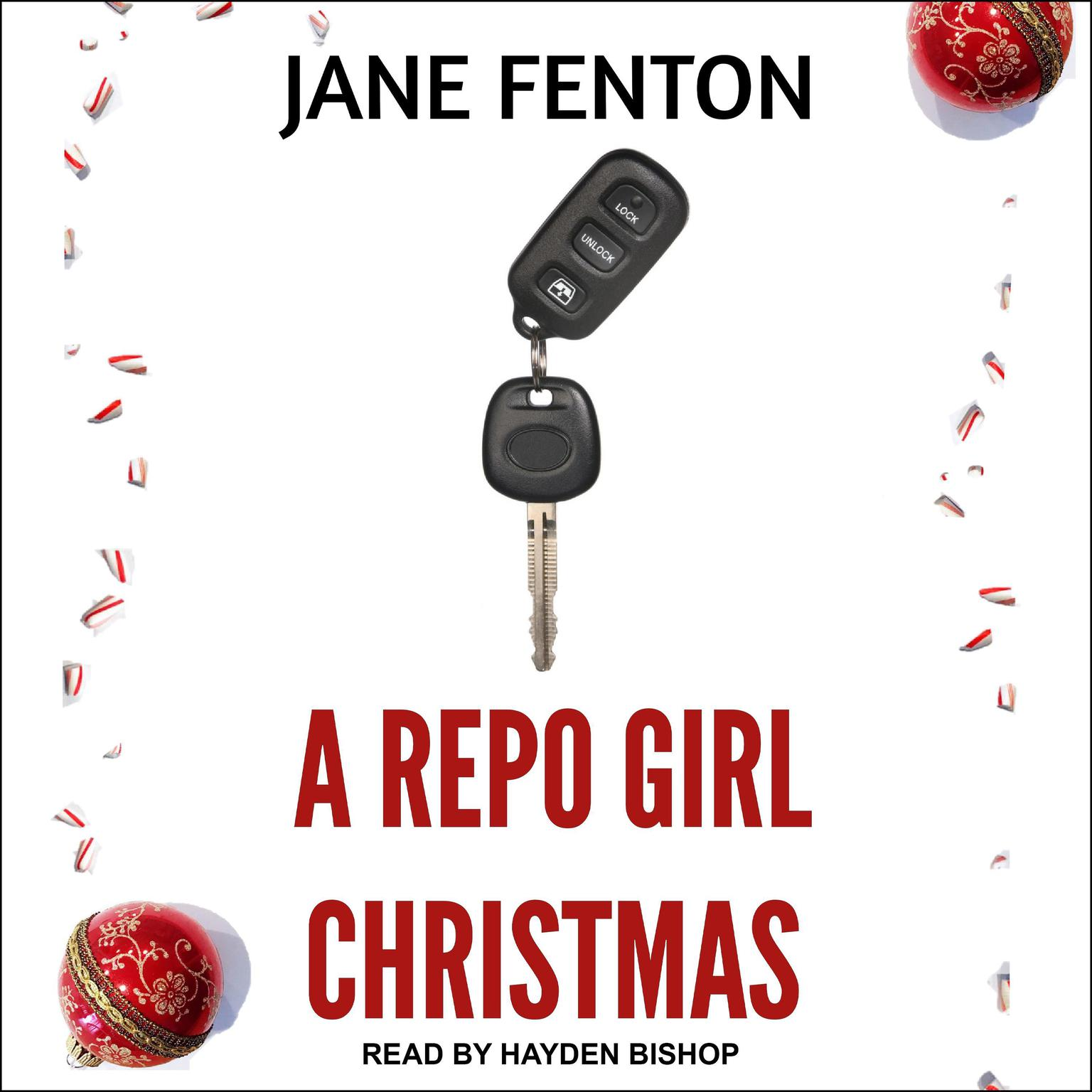 Printable A Repo Girl Christmas Audiobook Cover Art