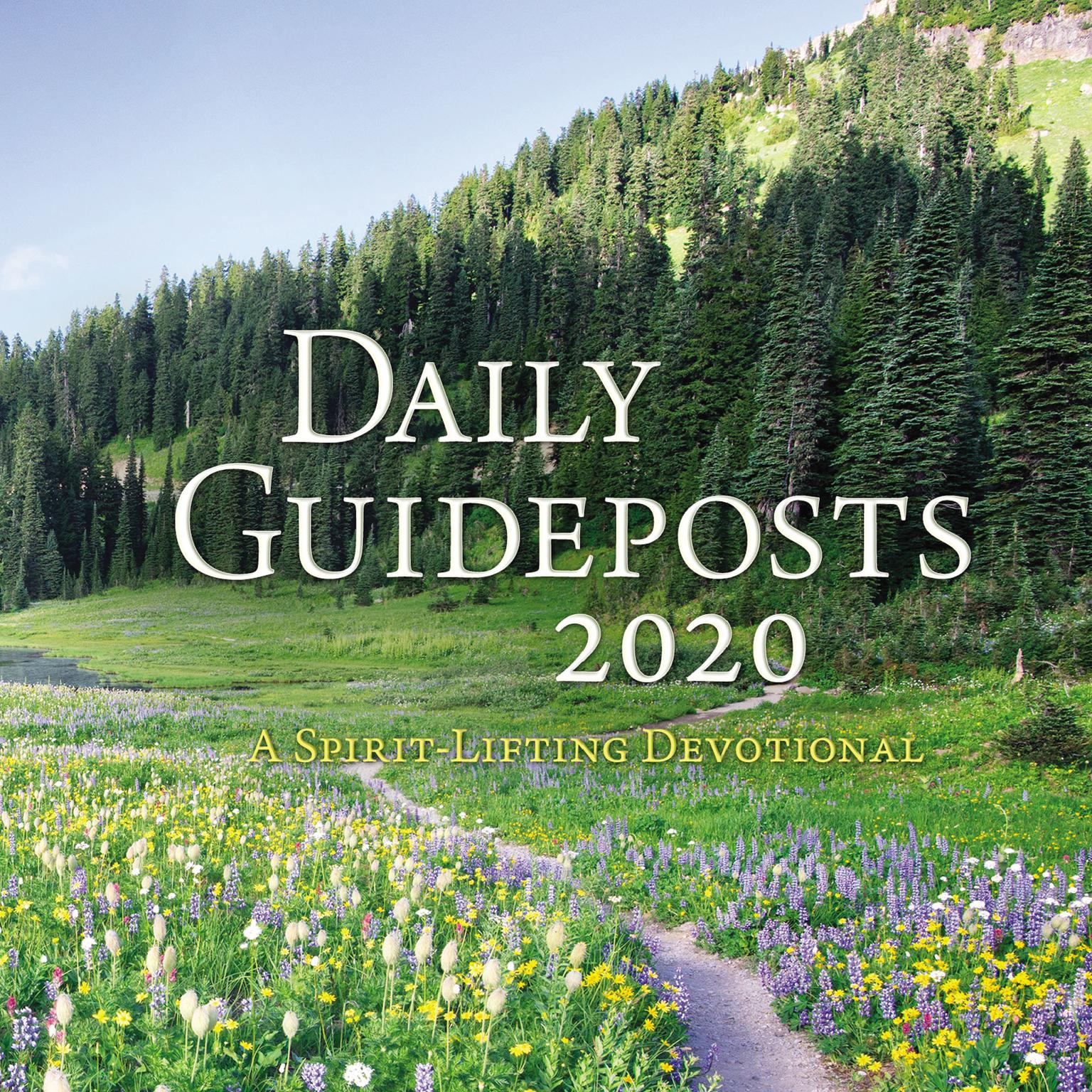 Printable Daily Guideposts 2020: A Spirit-Lifting Devotional Audiobook Cover Art