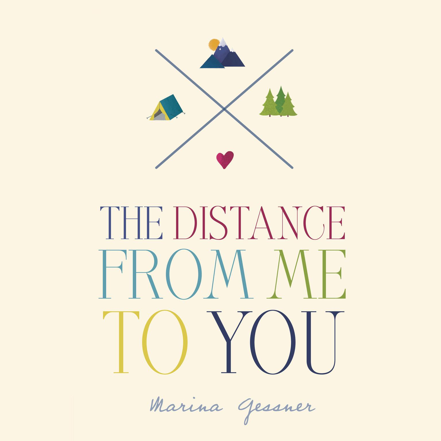 Printable The Distance from Me to You Audiobook Cover Art