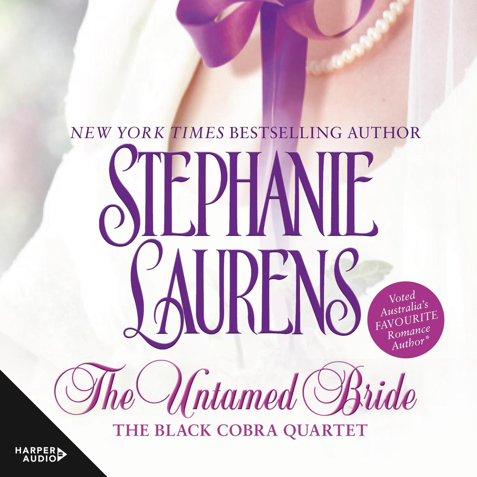 Printable The Untamed Bride Audiobook Cover Art