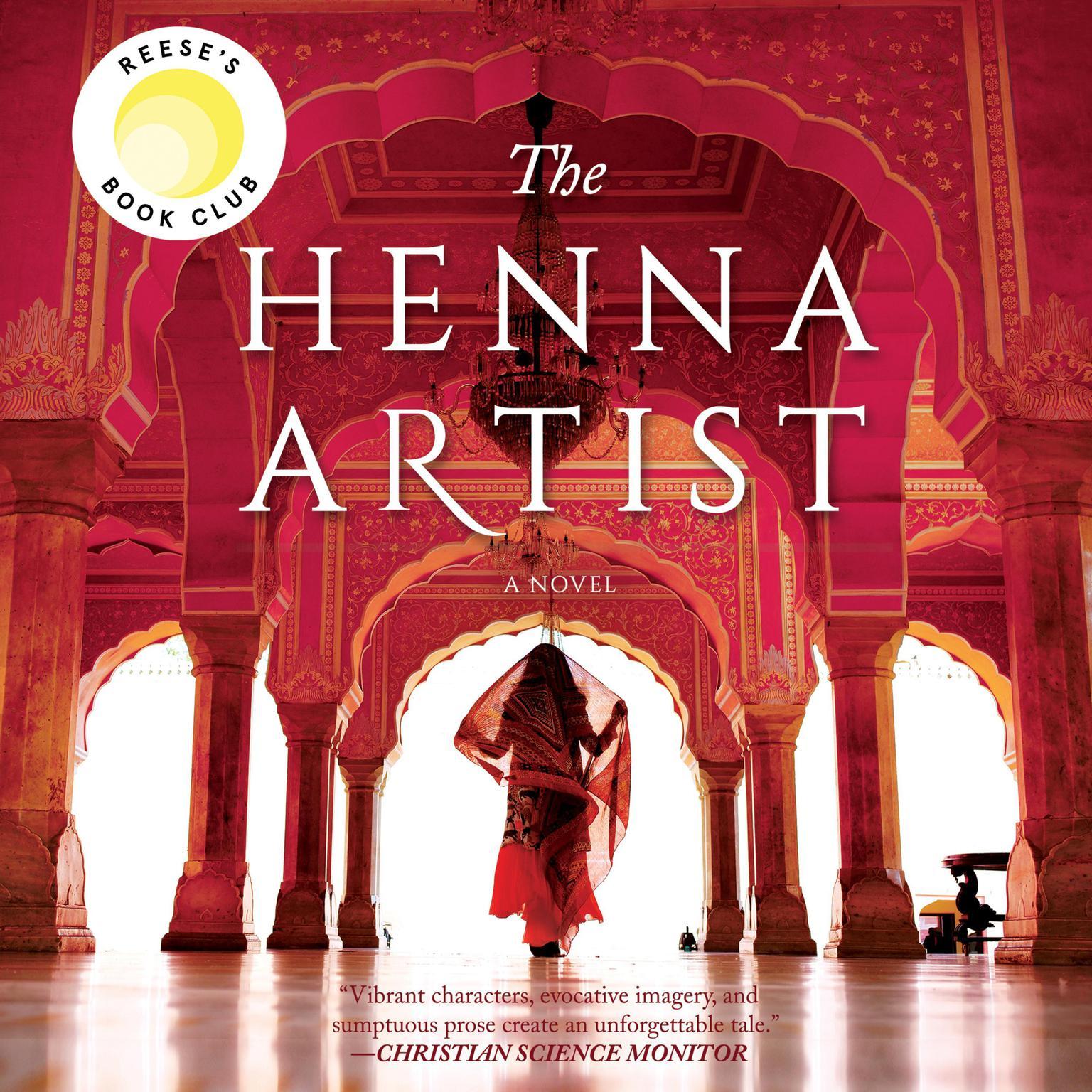 Printable The Henna Artist Audiobook Cover Art