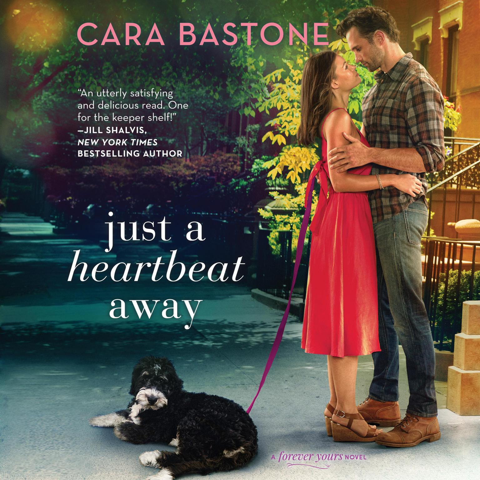 Printable Just a Heartbeat Away Audiobook Cover Art