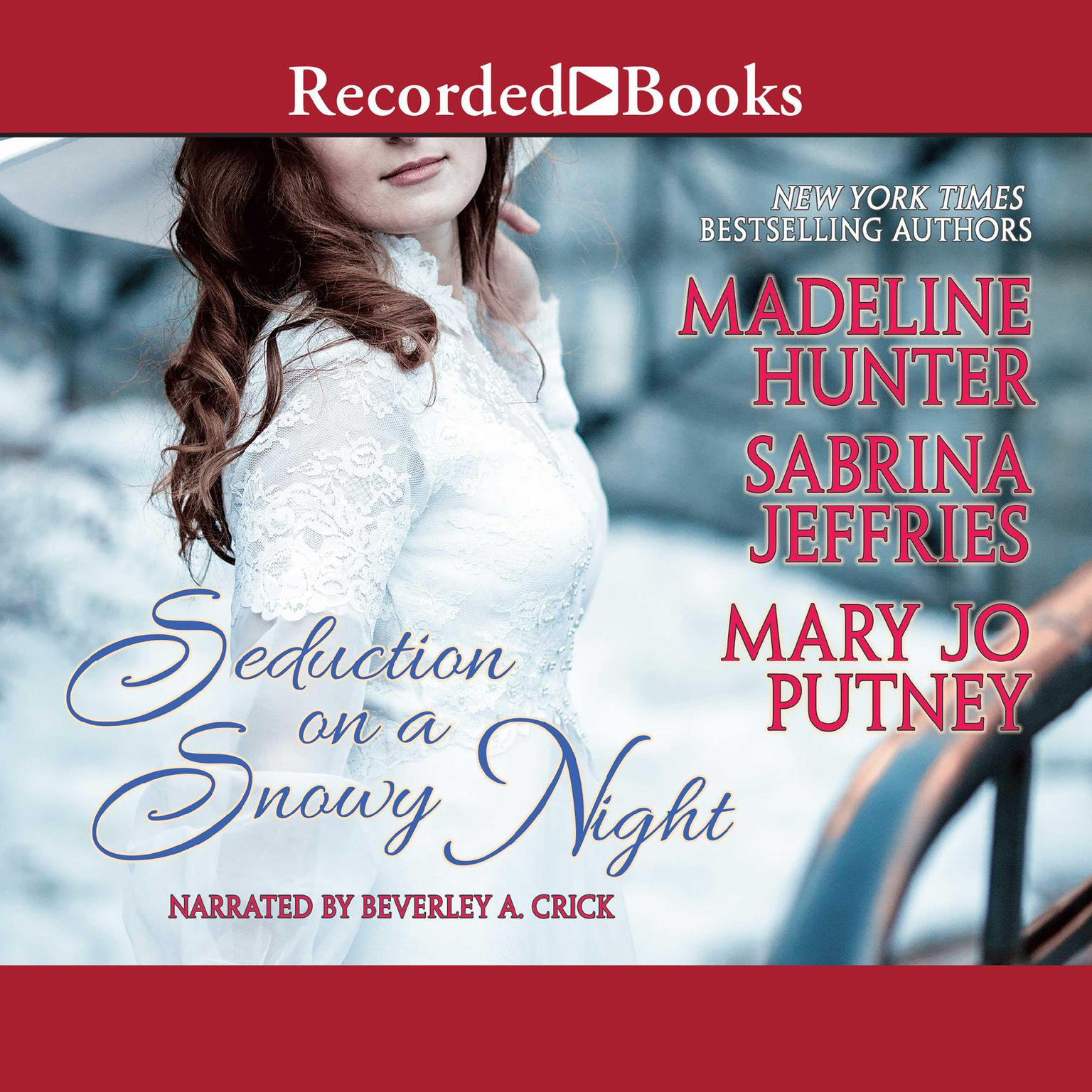 Printable Seduction on a Snowy Night Audiobook Cover Art