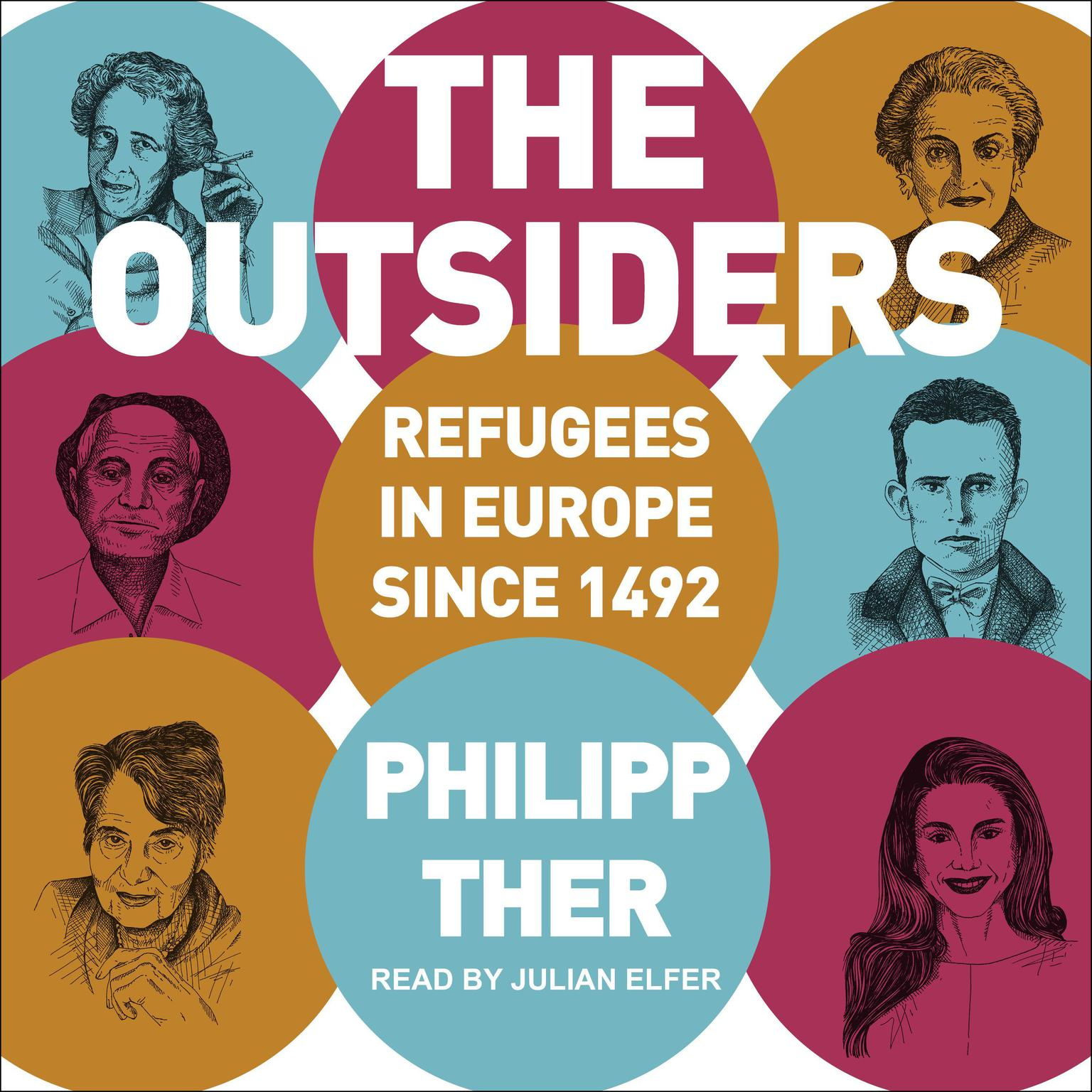 Printable The Outsiders: Refugees in Europe since 1492 Audiobook Cover Art