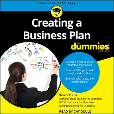 Creating a Business Plan For Dummies Audiobook, by Veechi Curtis