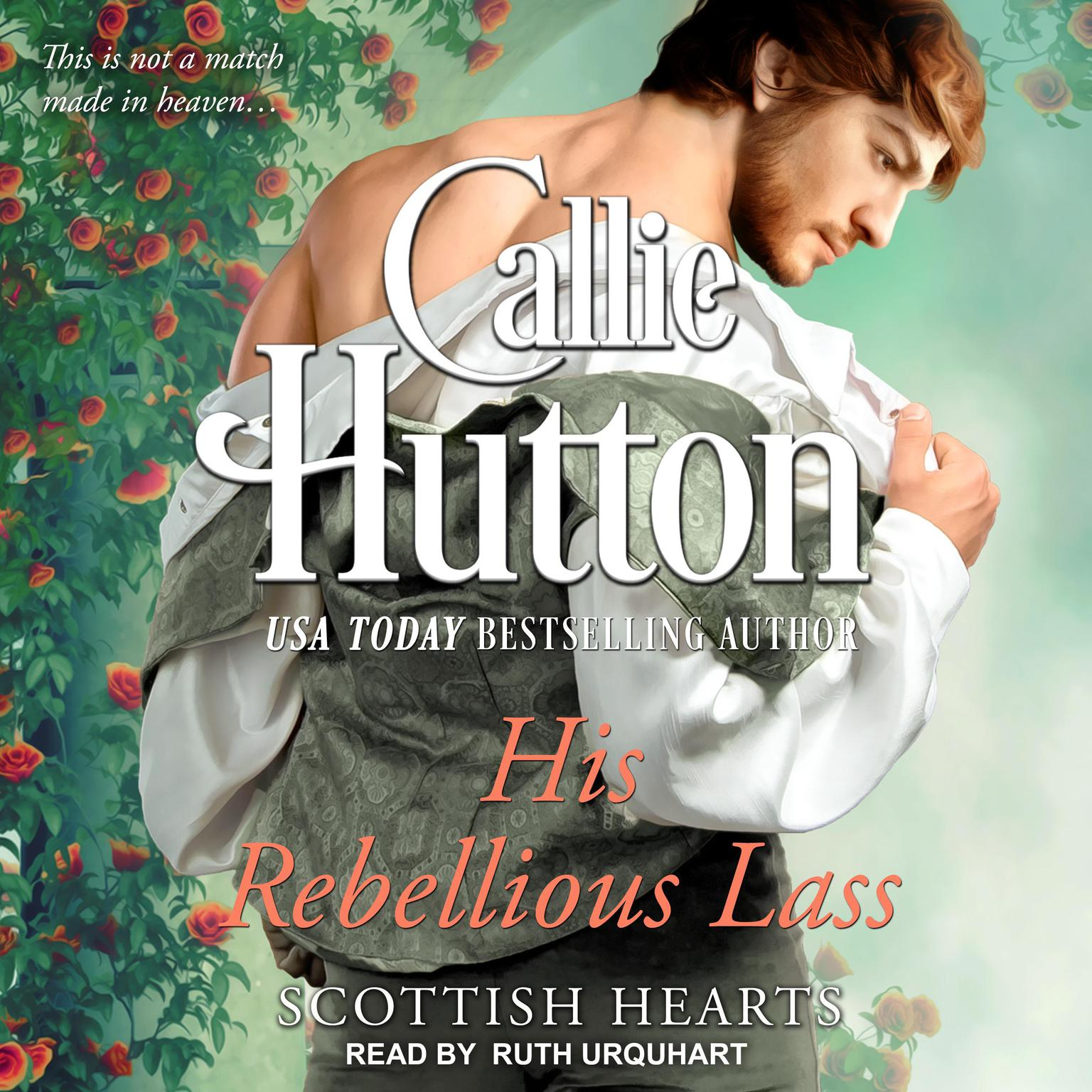 Printable His Rebellious Lass Audiobook Cover Art