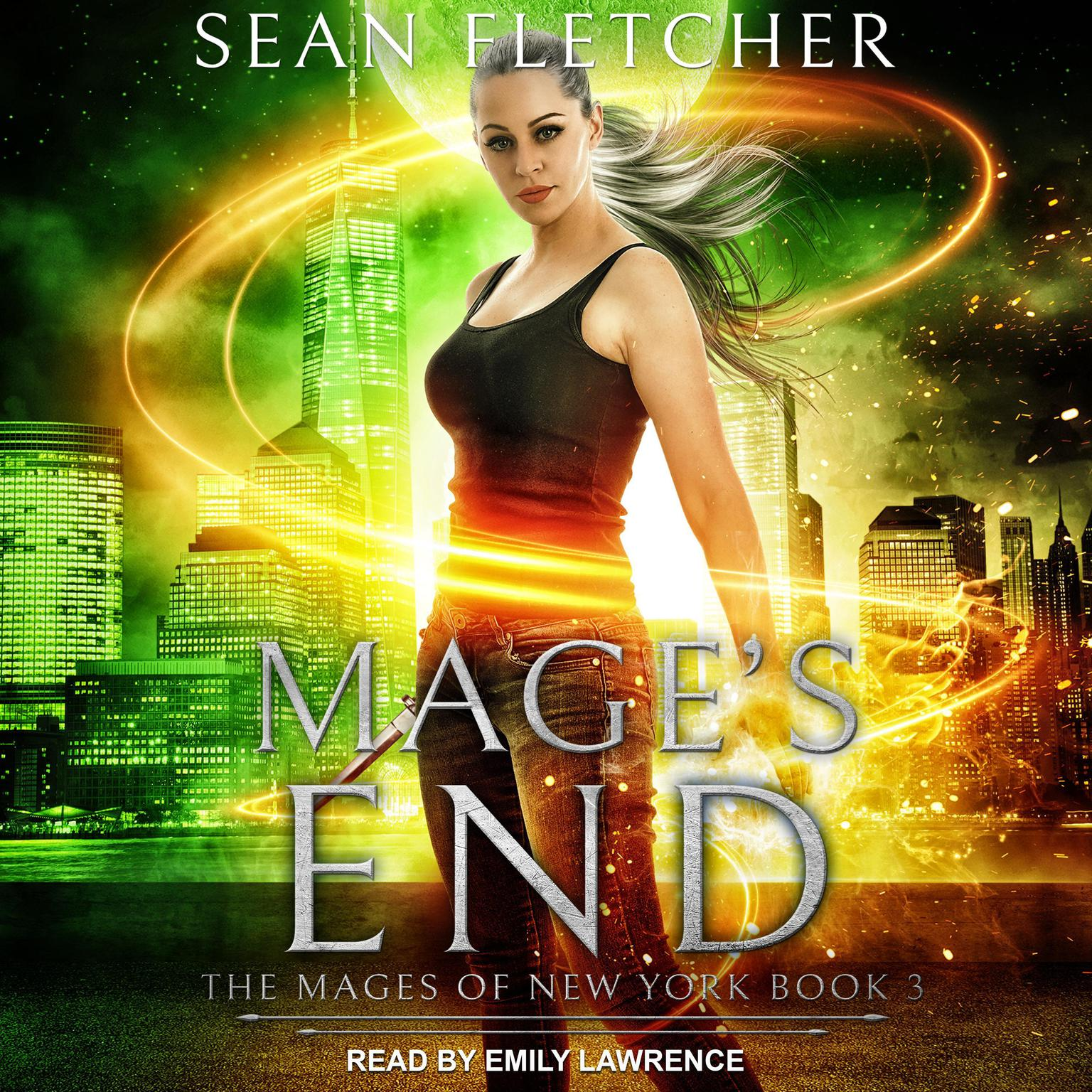 Printable Mage's End Audiobook Cover Art