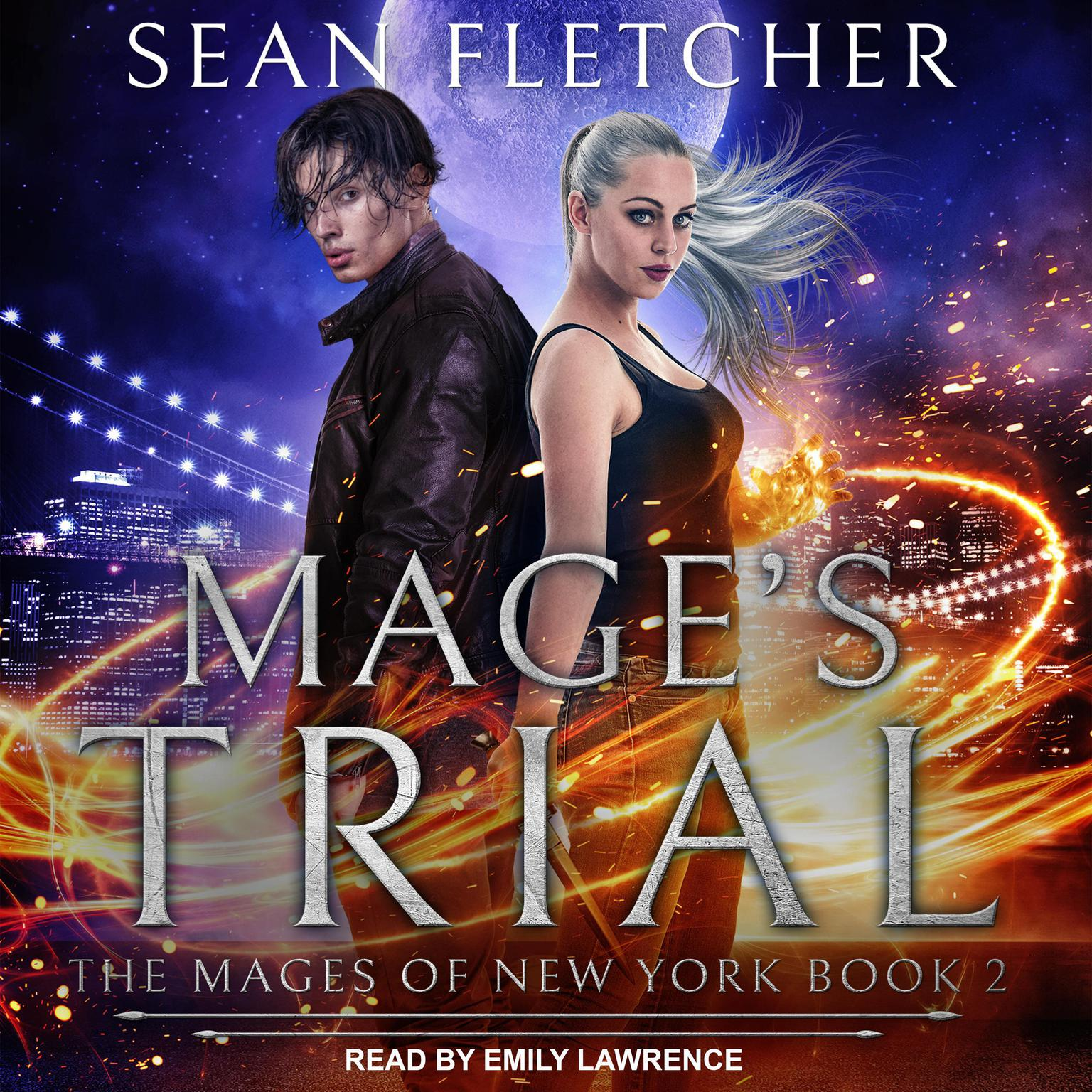 Printable Mage's Trial Audiobook Cover Art