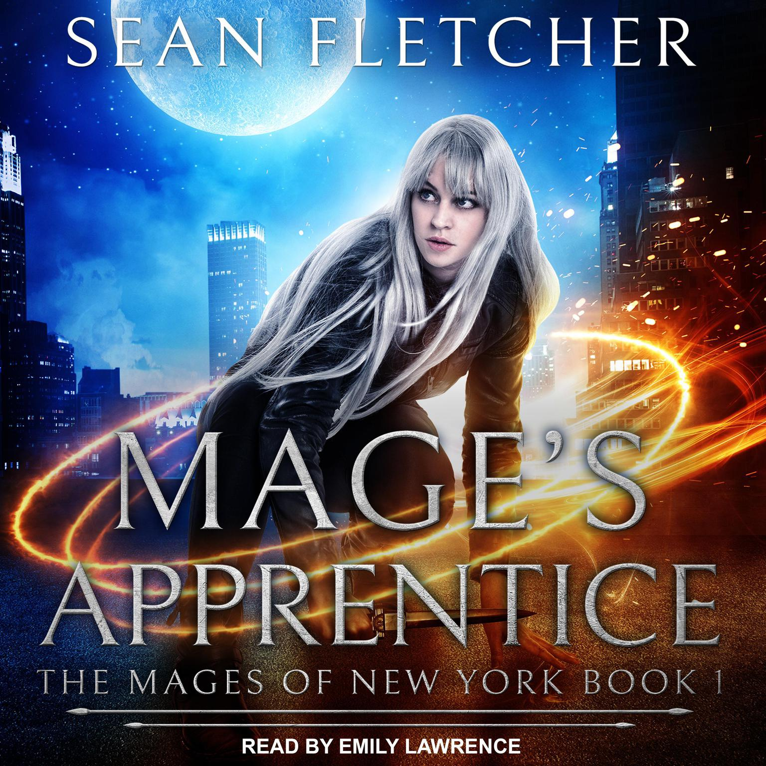 Printable Mage's Apprentice Audiobook Cover Art
