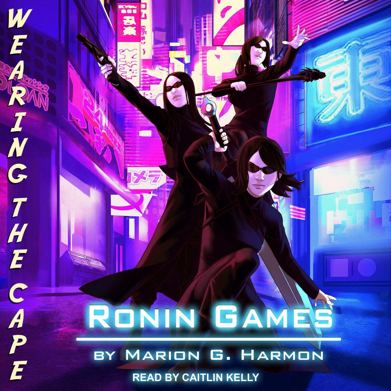 Printable Ronin Games Audiobook Cover Art