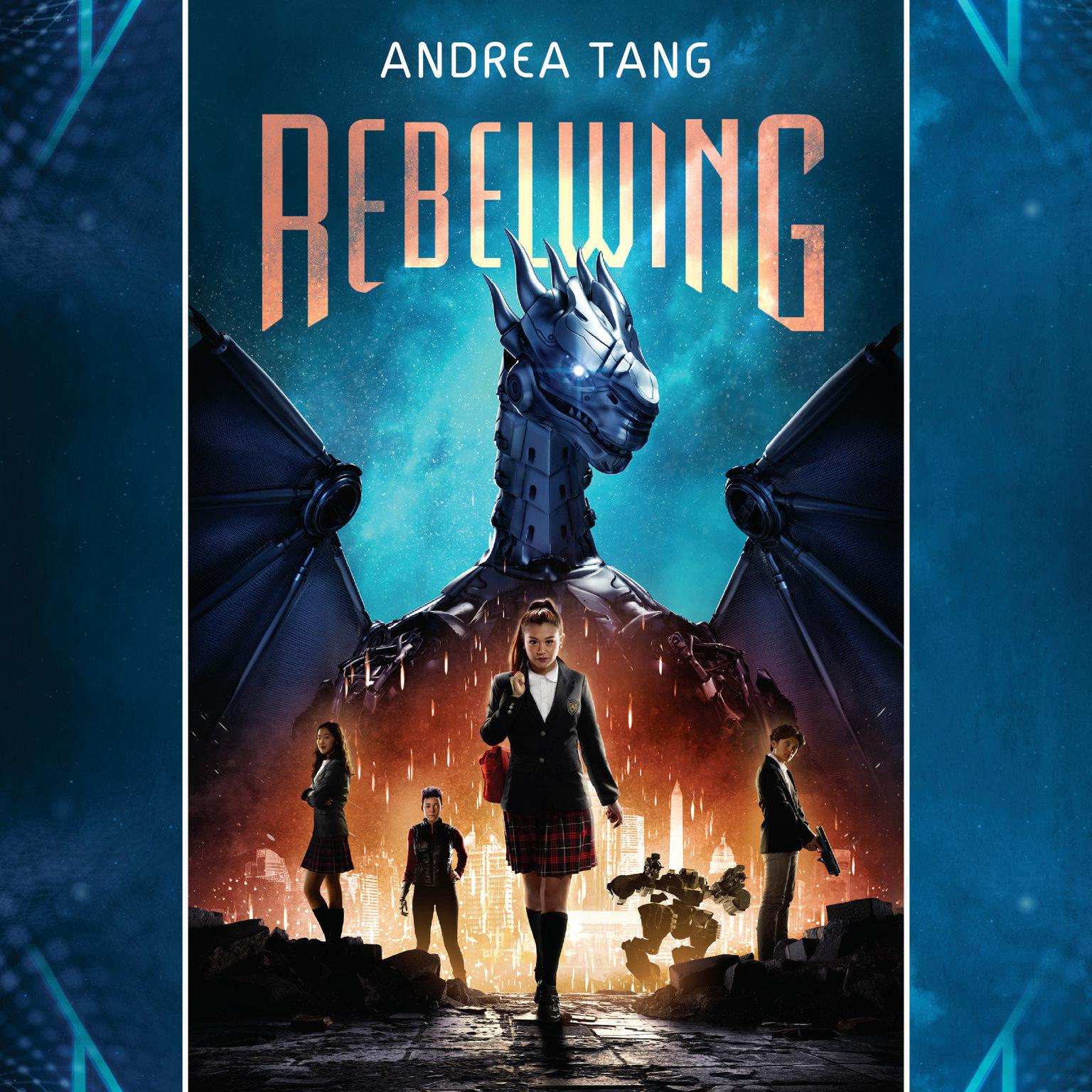 Printable Rebelwing Audiobook Cover Art
