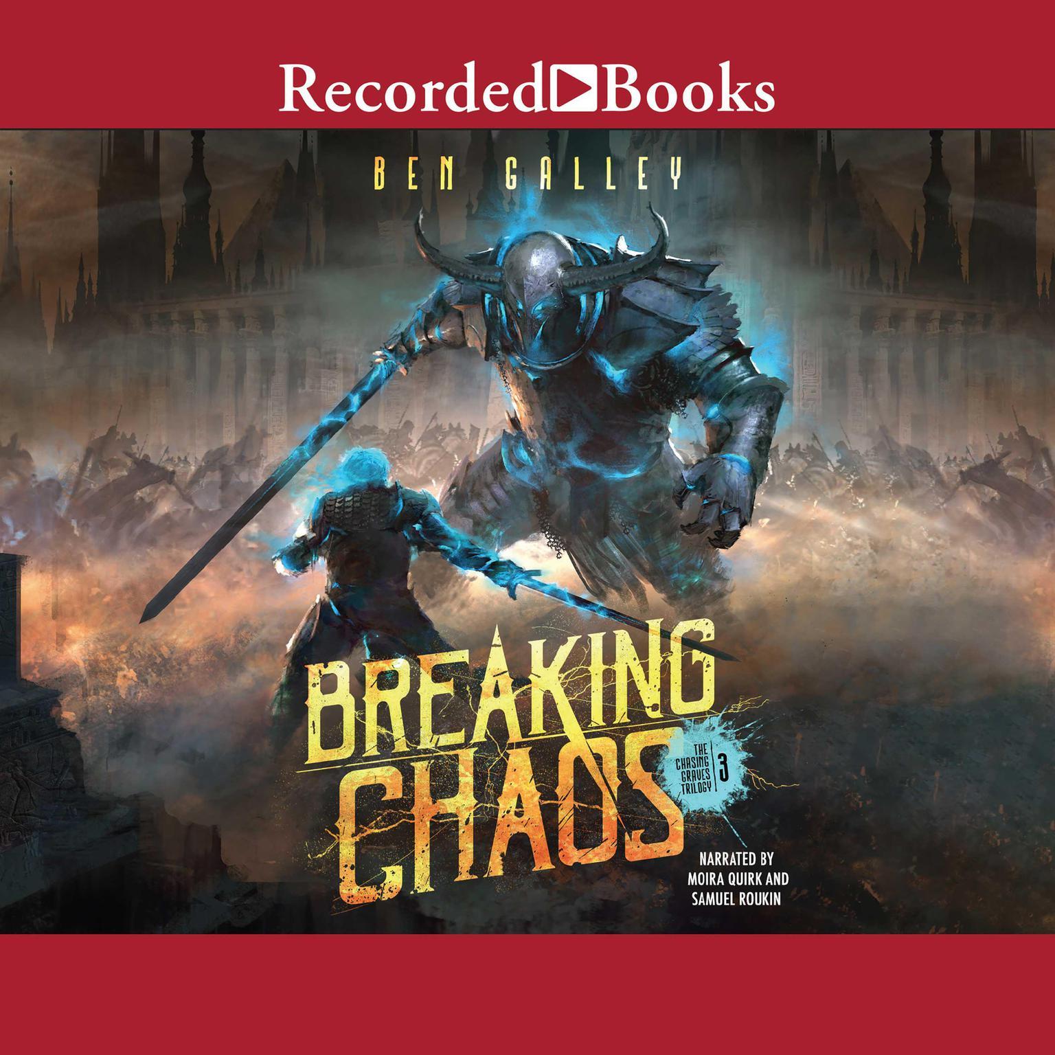 Printable Breaking Chaos Audiobook Cover Art