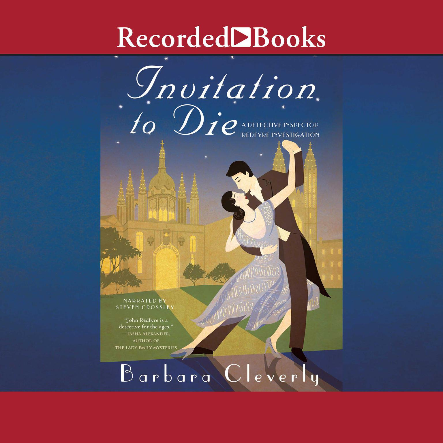 Invitation to Die Audiobook, by Barbara Cleverly