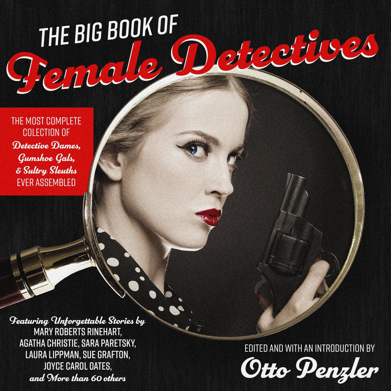 Printable The Big Book of Female Detectives Audiobook Cover Art