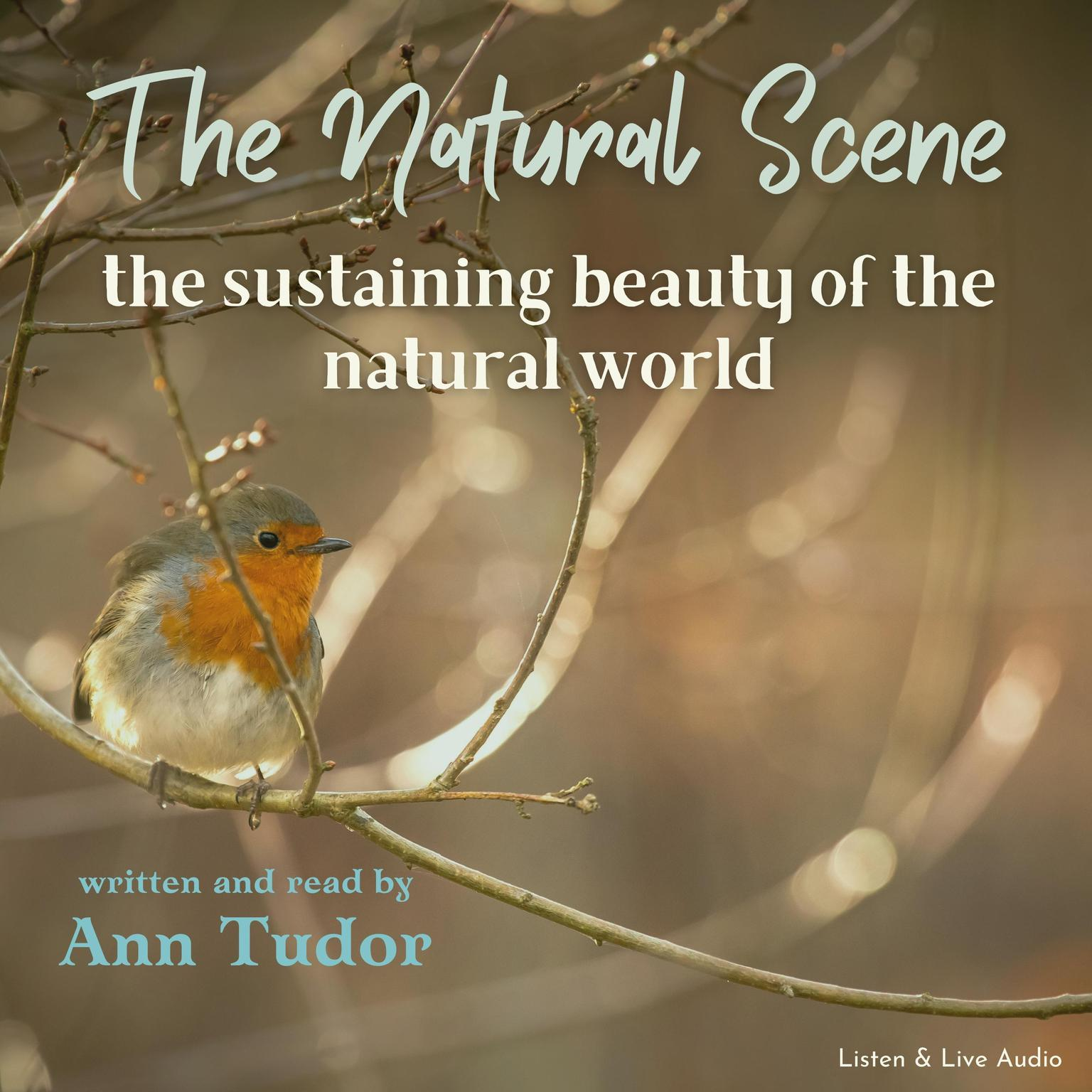 Printable The Natural Scene Audiobook Cover Art