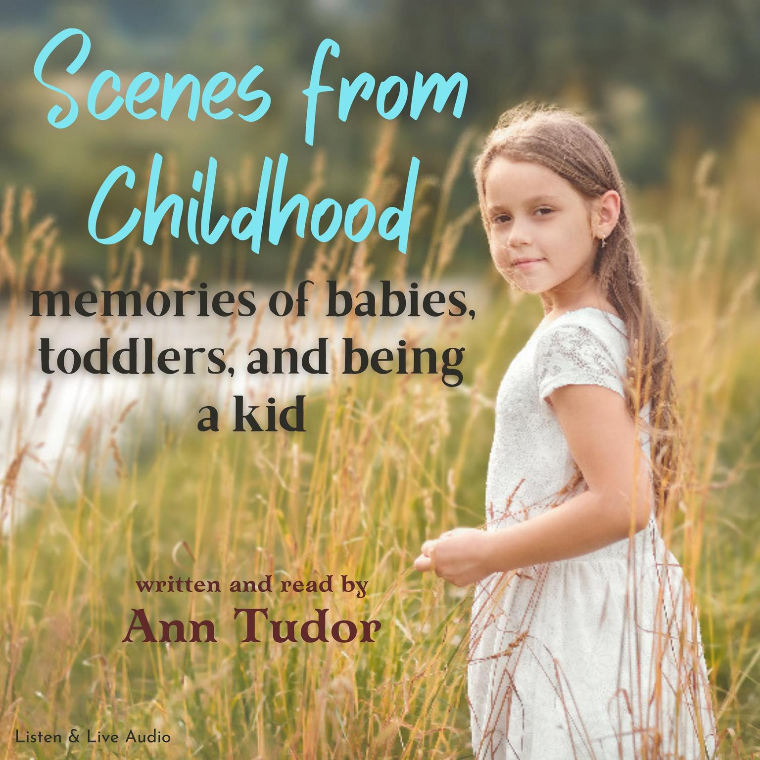 Printable Scenes From Childhood Audiobook Cover Art