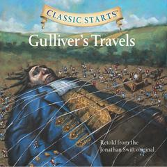 Gullivers Travels Audiobook, by Jonathan Swift, Martin Woodside