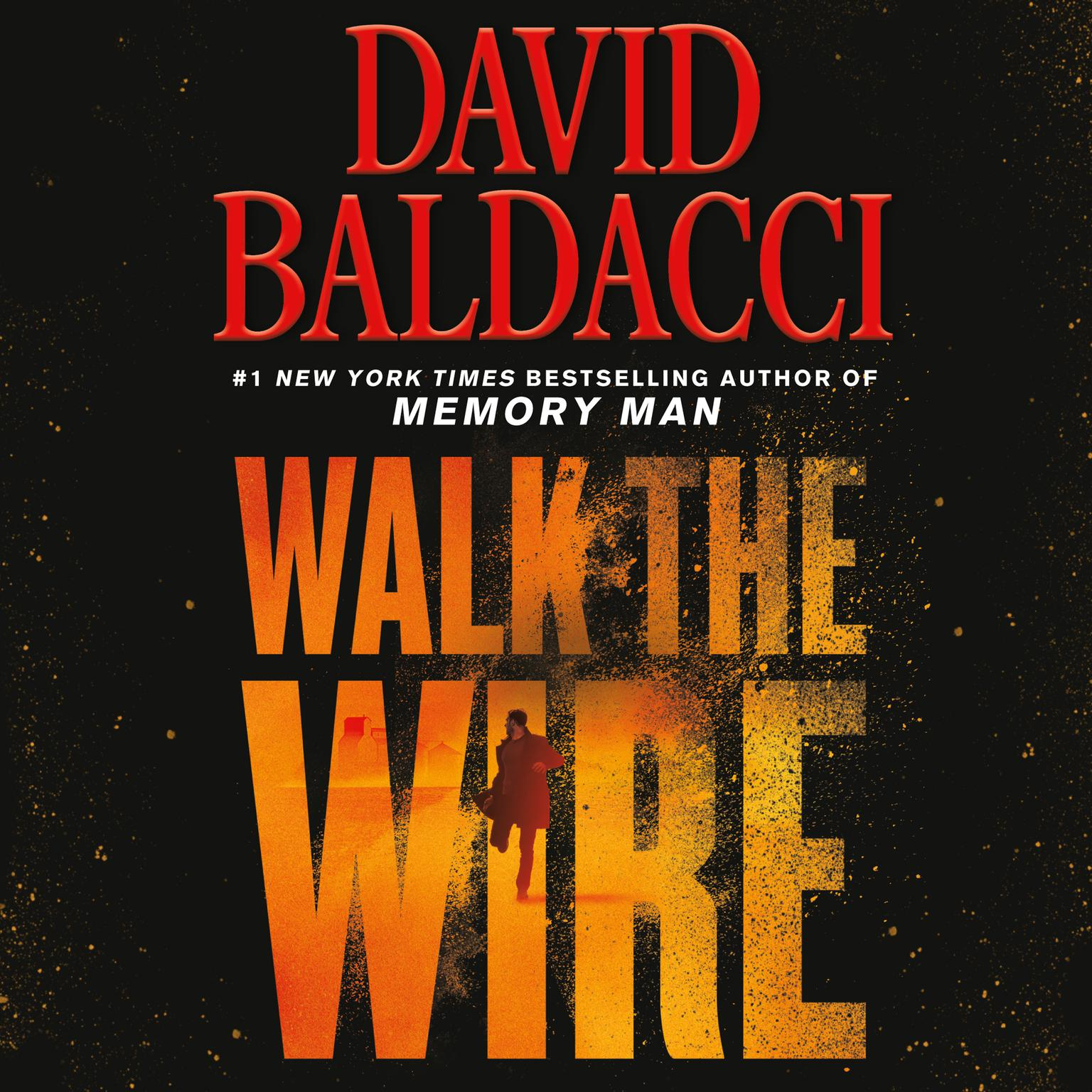 Printable Walk the Wire Audiobook Cover Art