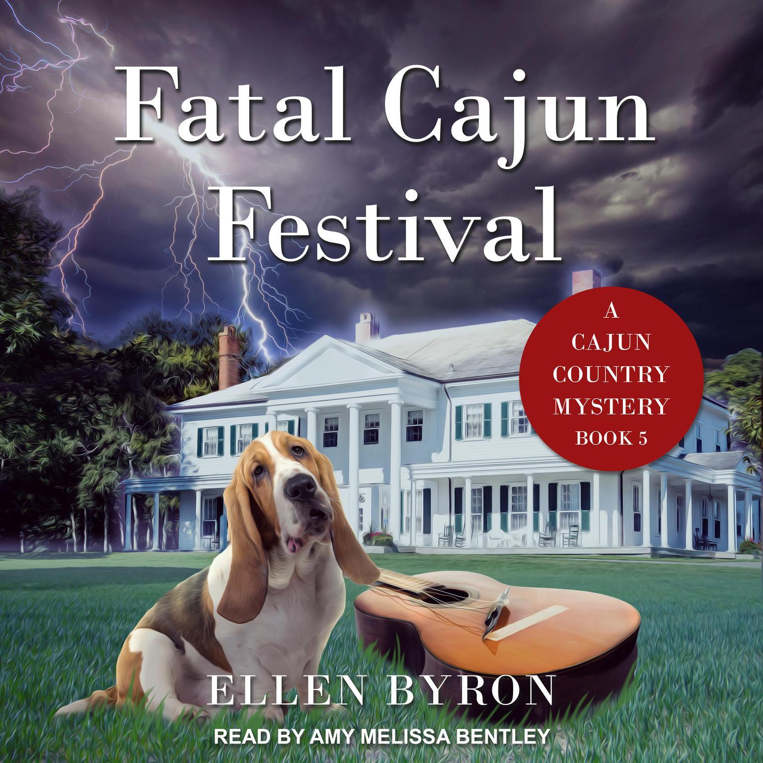 Printable Fatal Cajun Festival Audiobook Cover Art